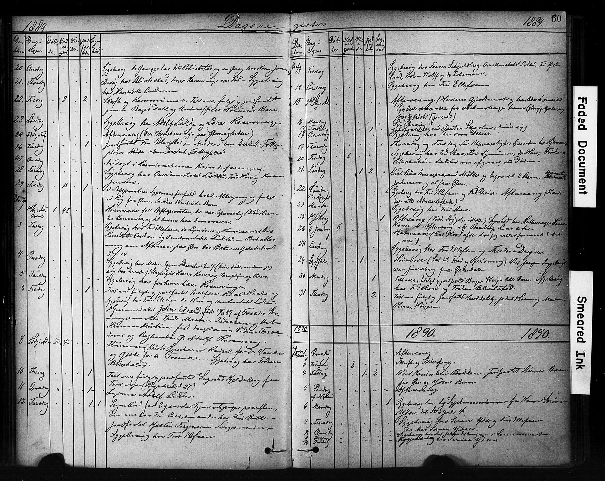 SAT, Ministerialprotokoller, klokkerbøker og fødselsregistre - Sør-Trøndelag, 601/L0071: Residerende kapellans bok nr. 601B04, 1882-1931, s. 60