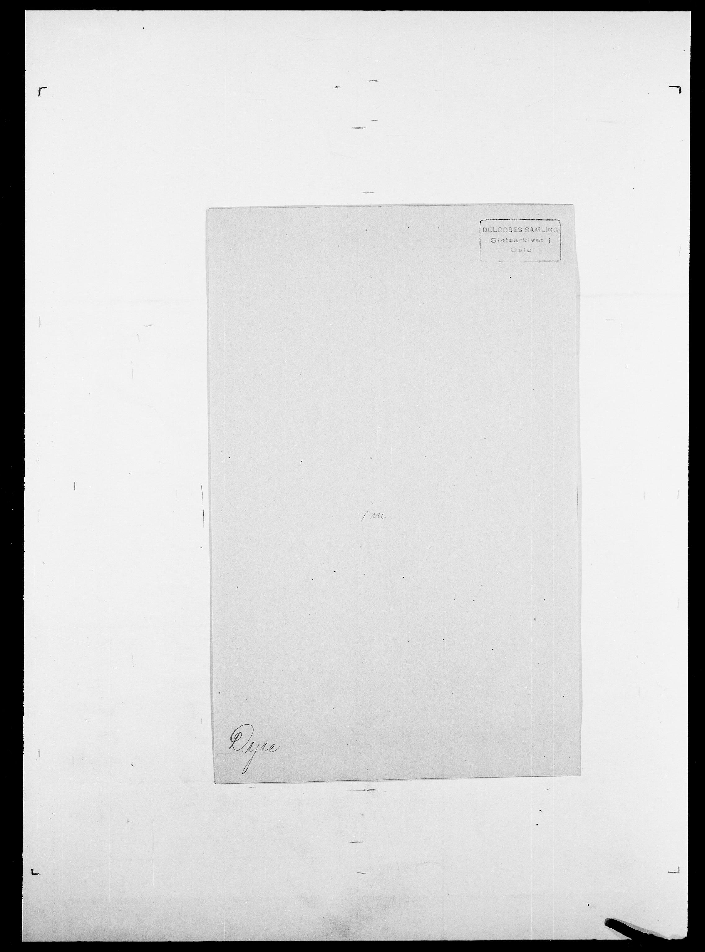 SAO, Delgobe, Charles Antoine - samling, D/Da/L0009: Dahl - v. Düren, s. 905