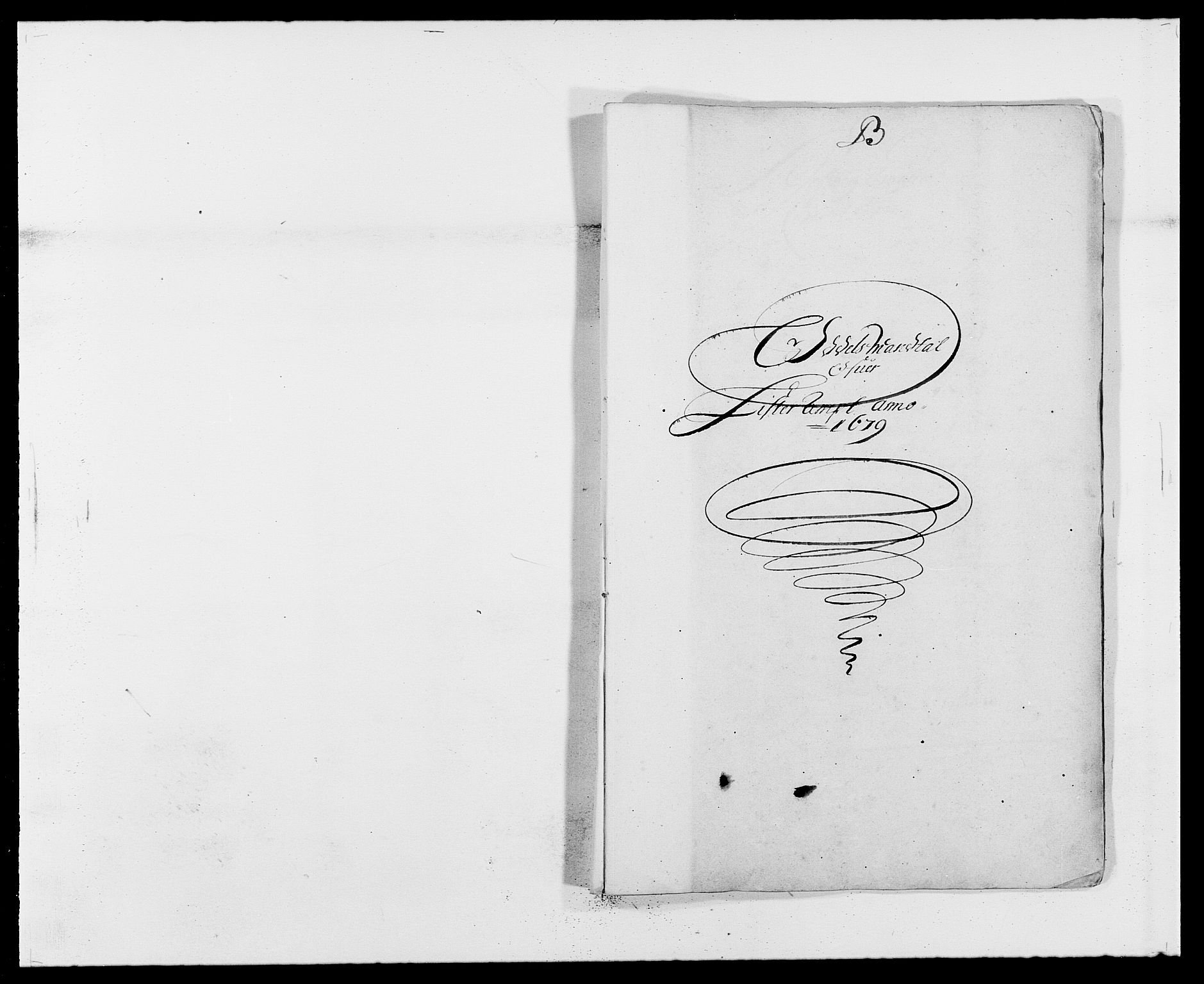 RA, Rentekammeret inntil 1814, Reviderte regnskaper, Fogderegnskap, R41/L2530: Fogderegnskap Lista, 1677-1679, s. 345