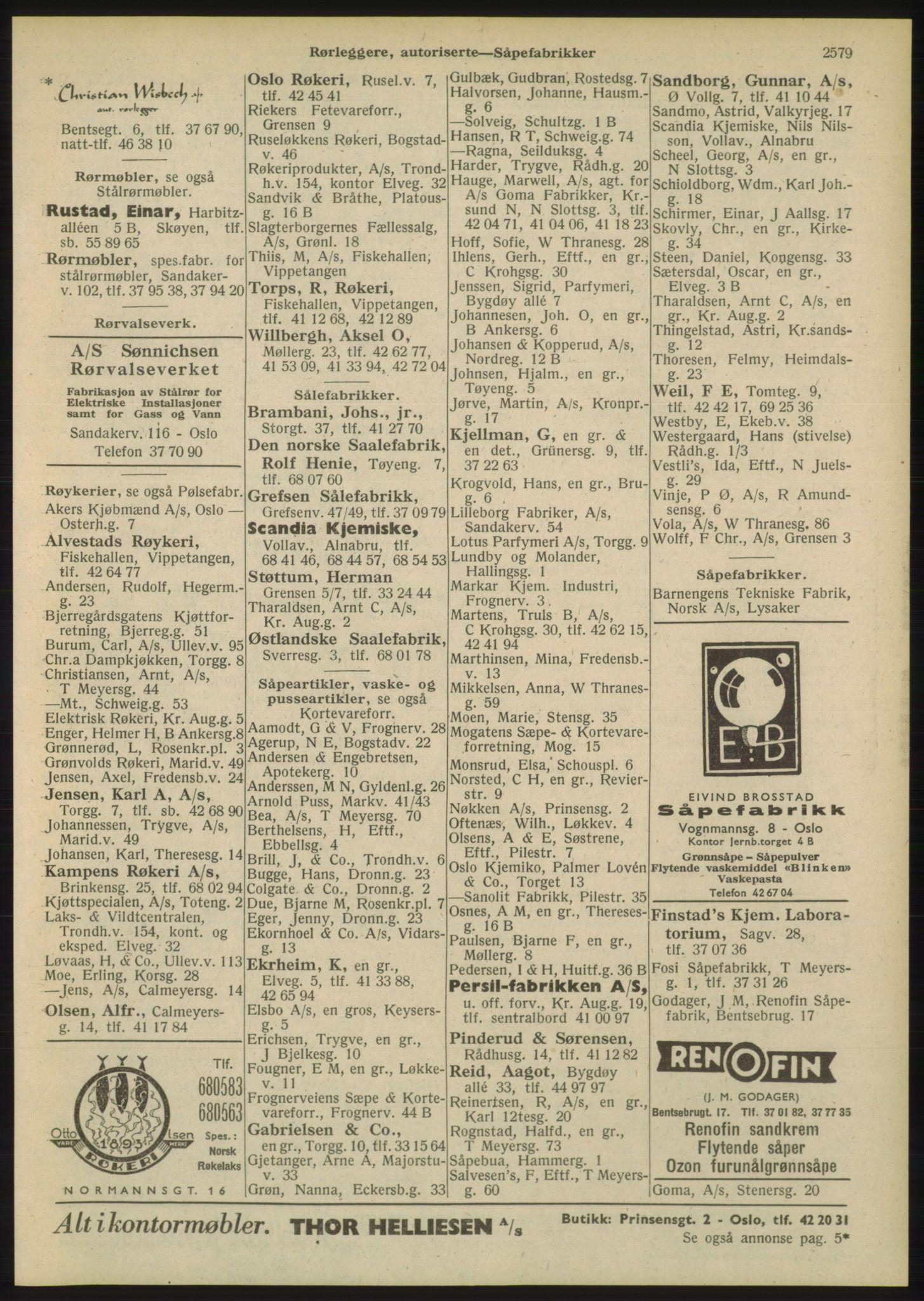 PUBL, Kristiania/Oslo adressebok, 1948, s. 2579