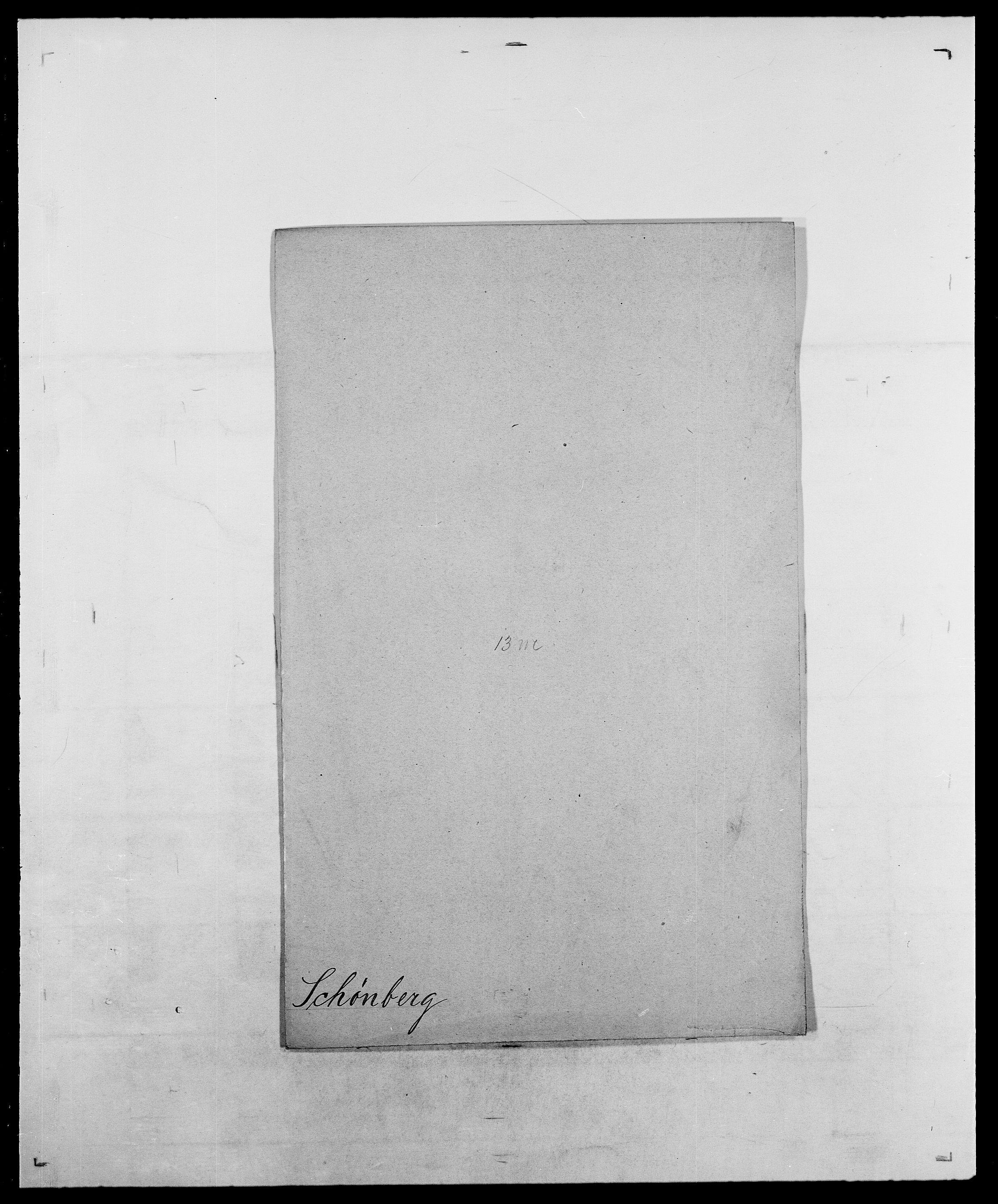 SAO, Delgobe, Charles Antoine - samling, D/Da/L0035: Schnabel - sjetman, s. 468