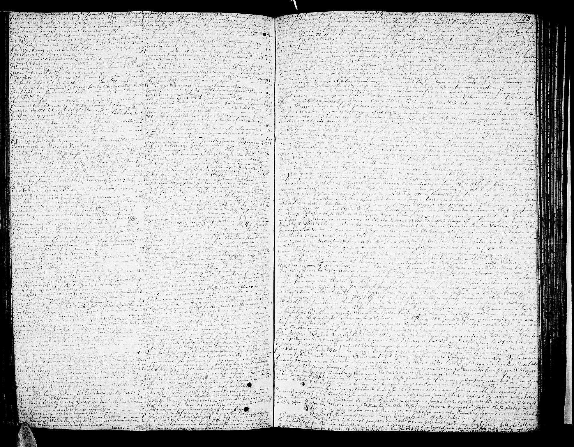 SAKO, Nedre Telemark sorenskriveri, H/Hb/Hba/L0016a: Skifteprotokoll, 1785-1792, s. 137b-138a