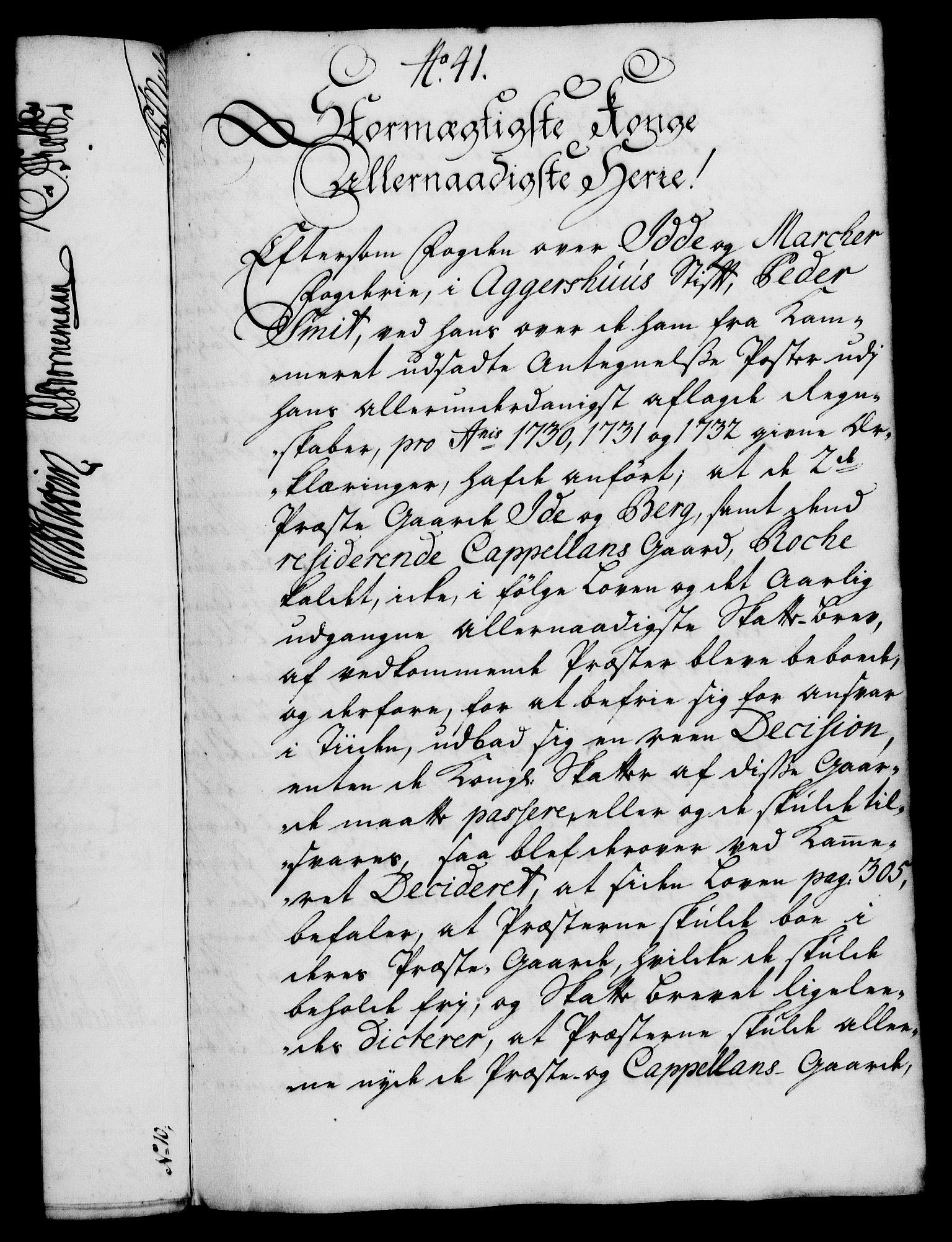 RA, Rentekammeret, Kammerkanselliet, G/Gf/Gfa/L0018: Norsk relasjons- og resolusjonsprotokoll (merket RK 52.18), 1735, s. 286