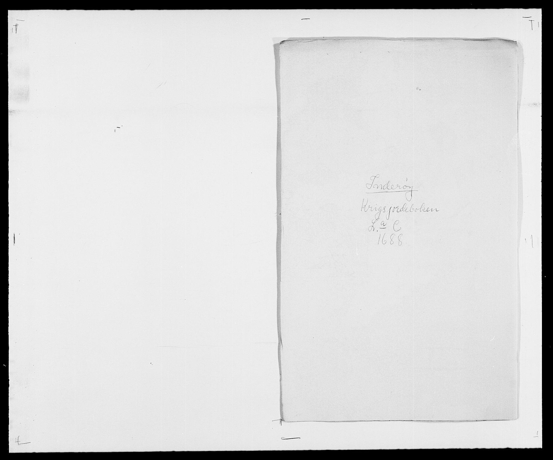 RA, Rentekammeret inntil 1814, Reviderte regnskaper, Fogderegnskap, R63/L4306: Fogderegnskap Inderøy, 1687-1689, s. 249