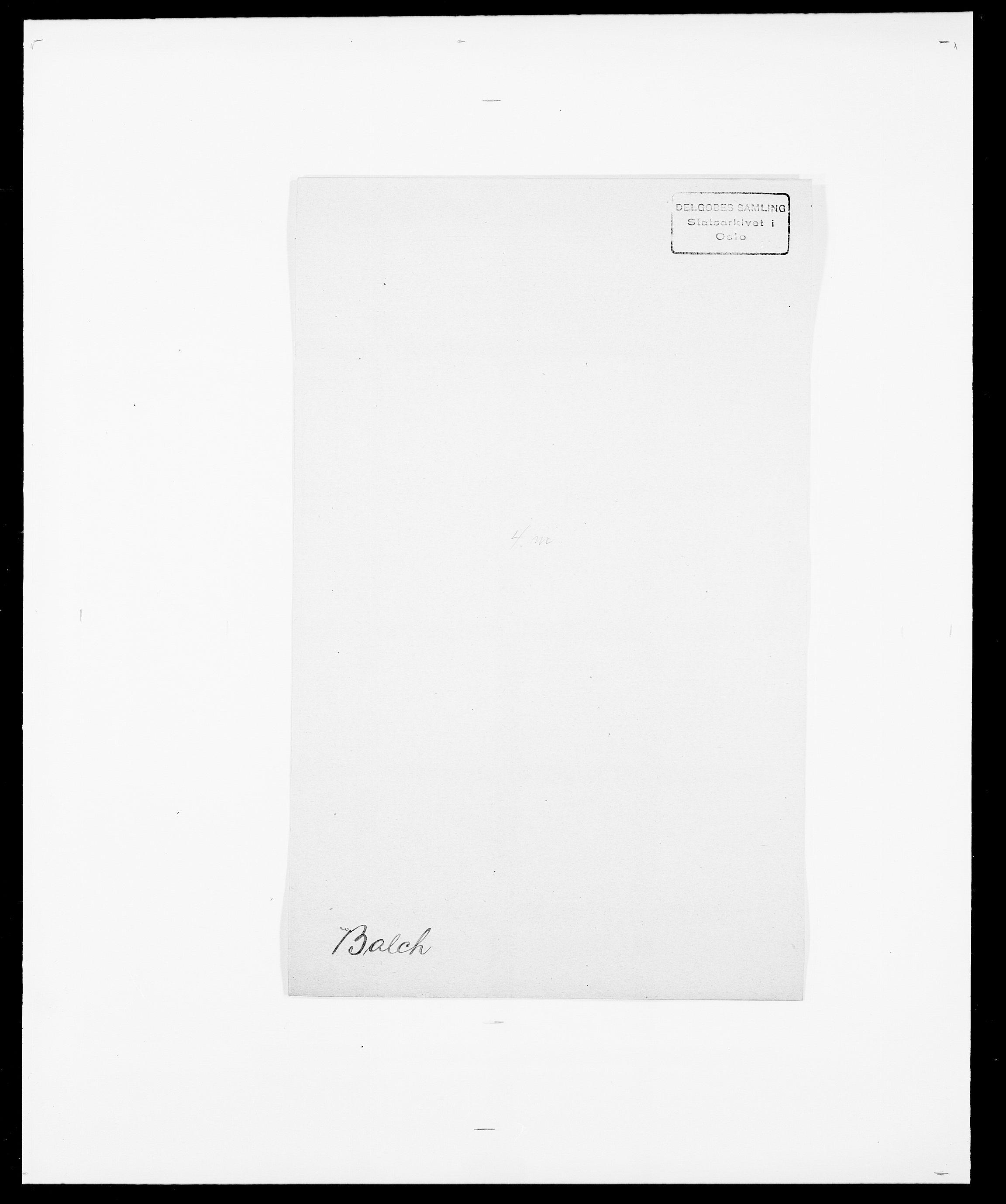 SAO, Delgobe, Charles Antoine - samling, D/Da/L0003: Barca - Bergen, s. 149