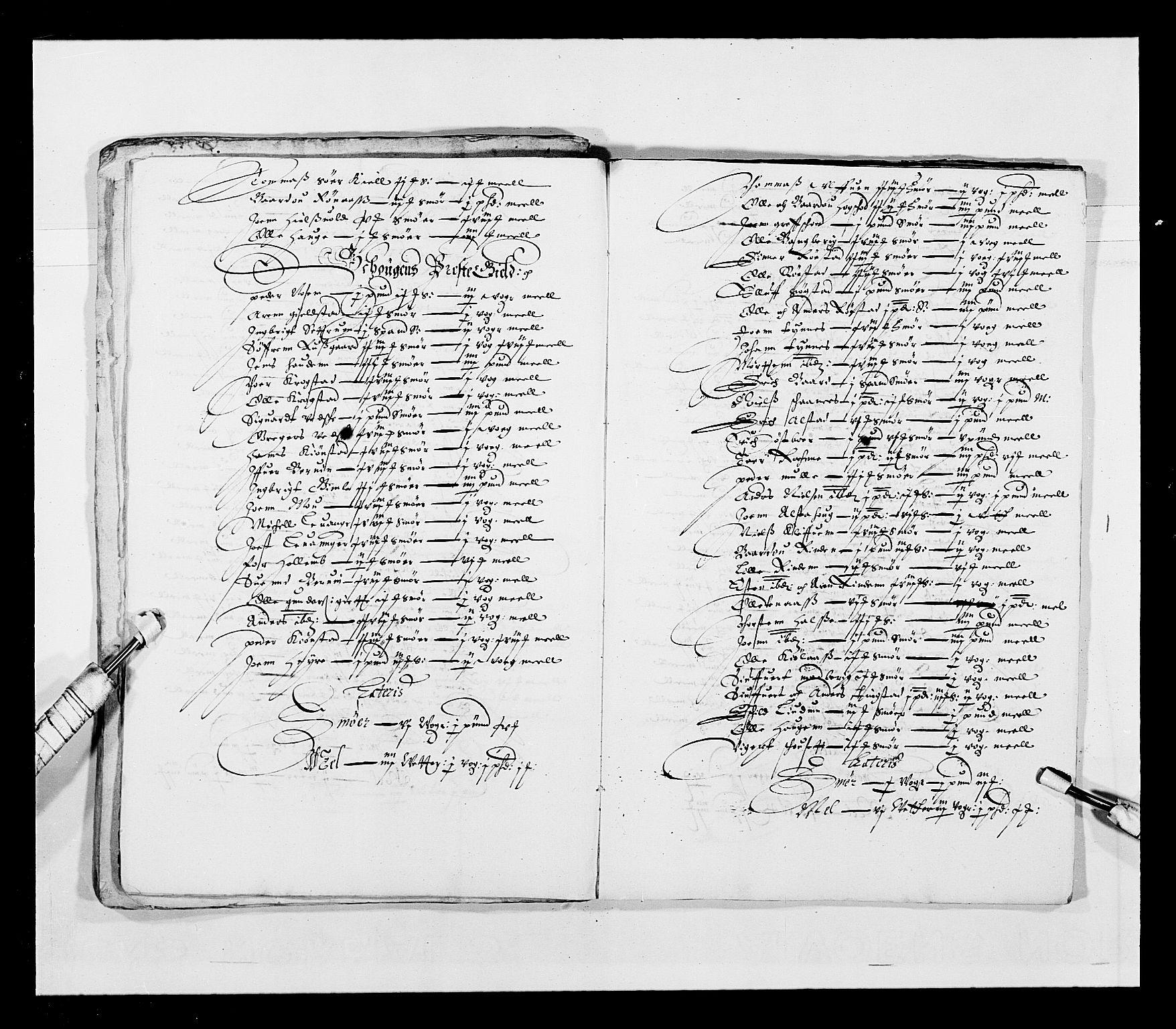 RA, Stattholderembetet 1572-1771, Ek/L0028: Jordebøker 1633-1658:, 1645-1646, s. 135