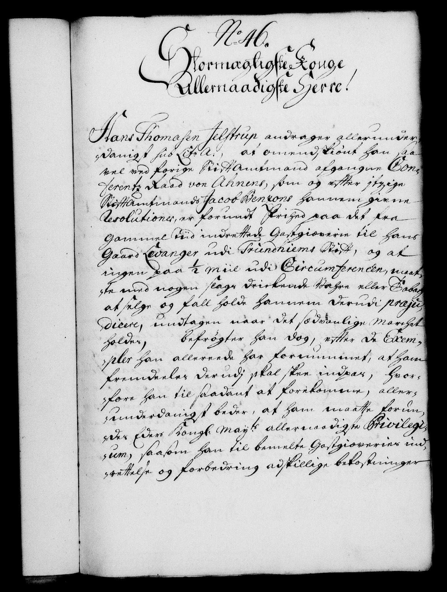 RA, Rentekammeret, Kammerkanselliet, G/Gf/Gfa/L0014: Norsk relasjons- og resolusjonsprotokoll (merket RK 52.14), 1731, s. 252
