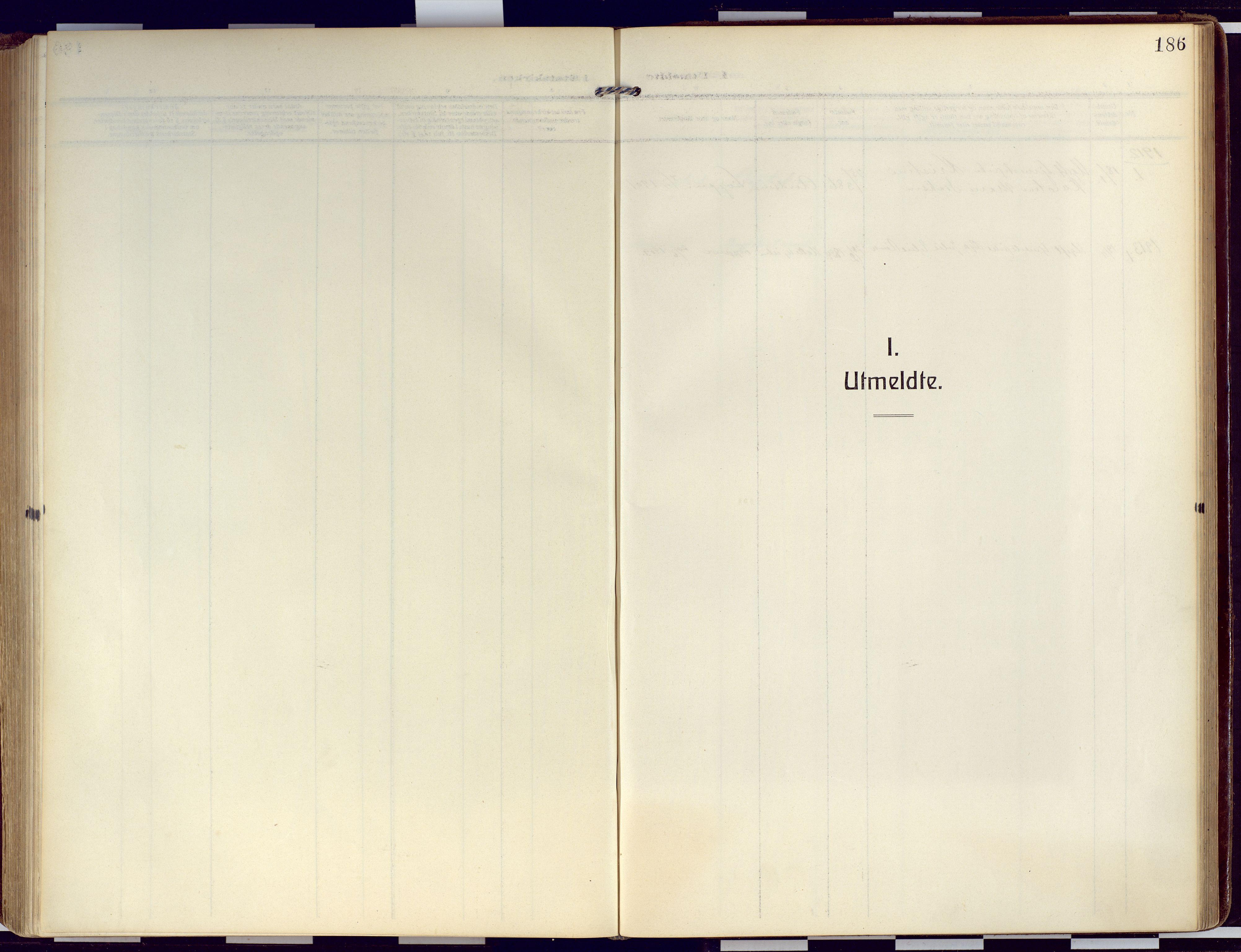 SATØ, Loppa sokneprestkontor, H/Ha/L0011kirke: Ministerialbok nr. 11, 1909-1919, s. 186