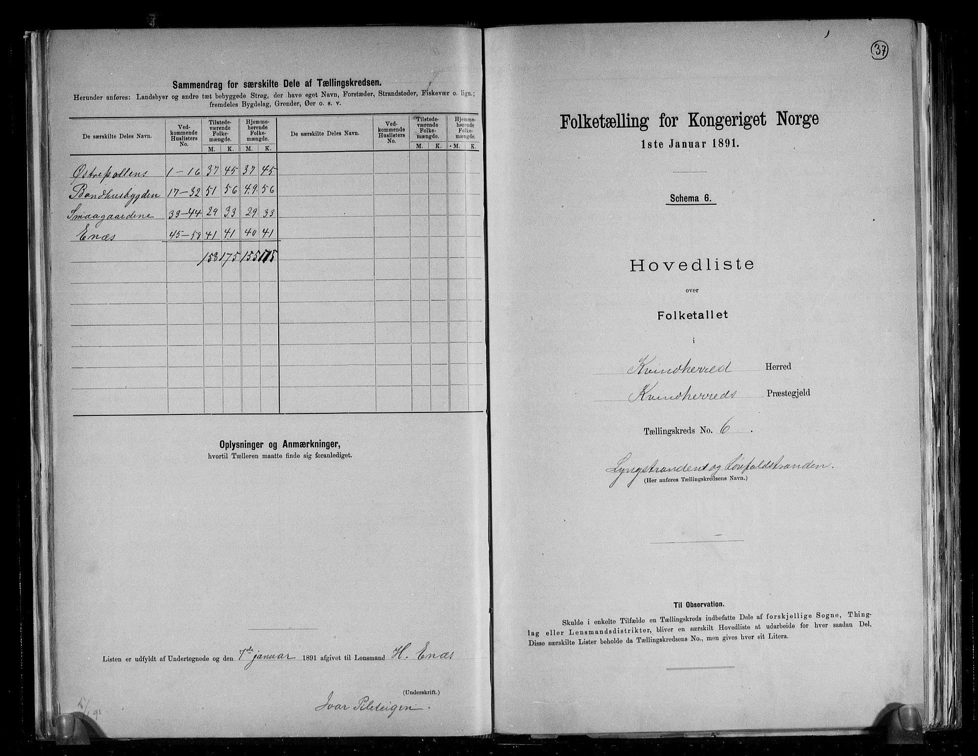 RA, Folketelling 1891 for 1224 Kvinnherad herred, 1891, s. 17