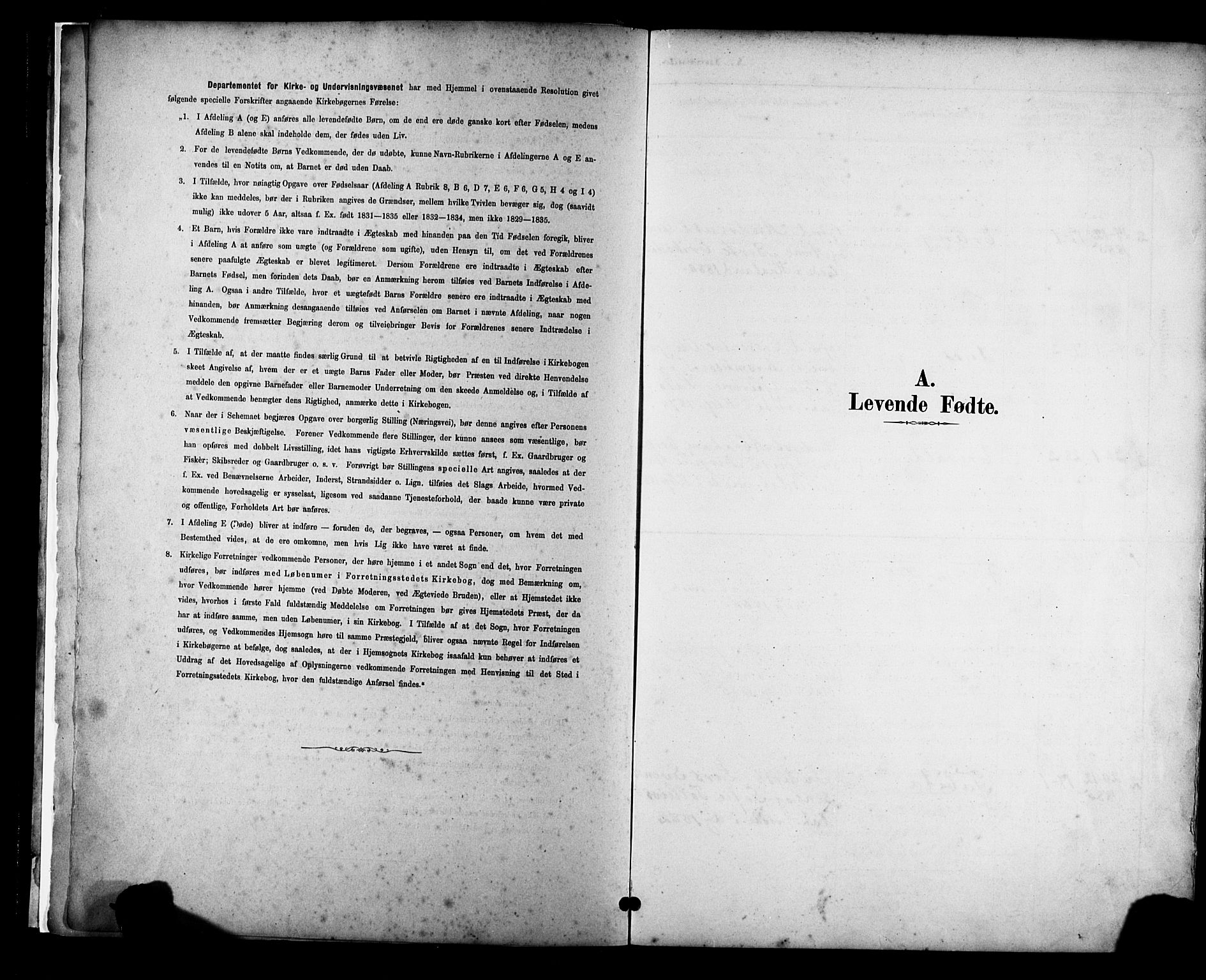 SAST, Klepp sokneprestkontor, 30BA/L0009: Ministerialbok nr. A 7, 1886-1915