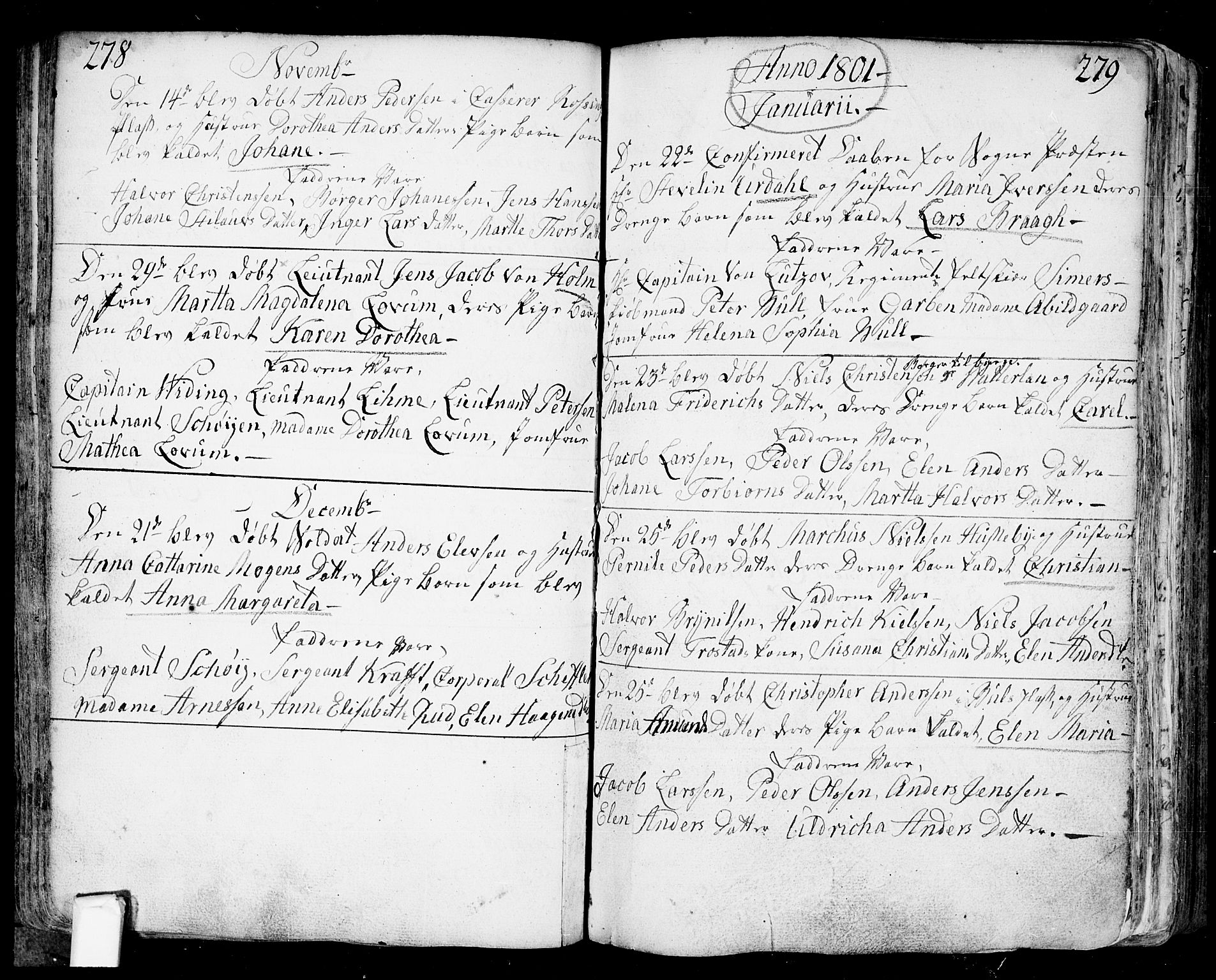 SAO, Fredrikstad prestekontor Kirkebøker, F/Fa/L0002: Ministerialbok nr. 2, 1750-1804, s. 278-279