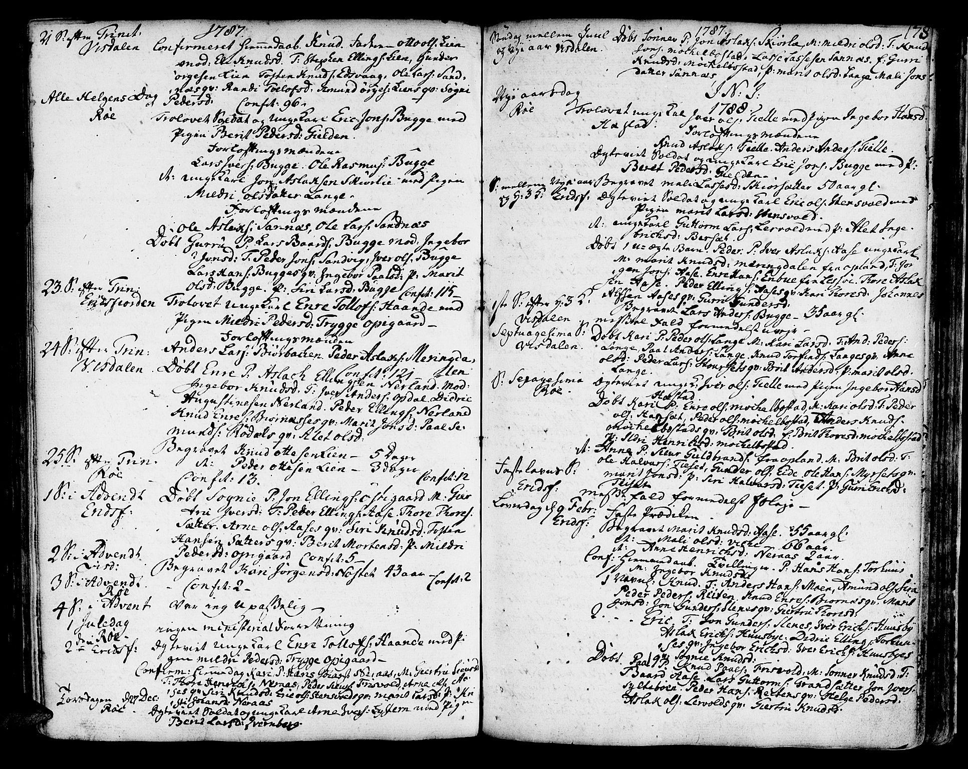 SAT, Ministerialprotokoller, klokkerbøker og fødselsregistre - Møre og Romsdal, 551/L0621: Ministerialbok nr. 551A01, 1757-1803, s. 178