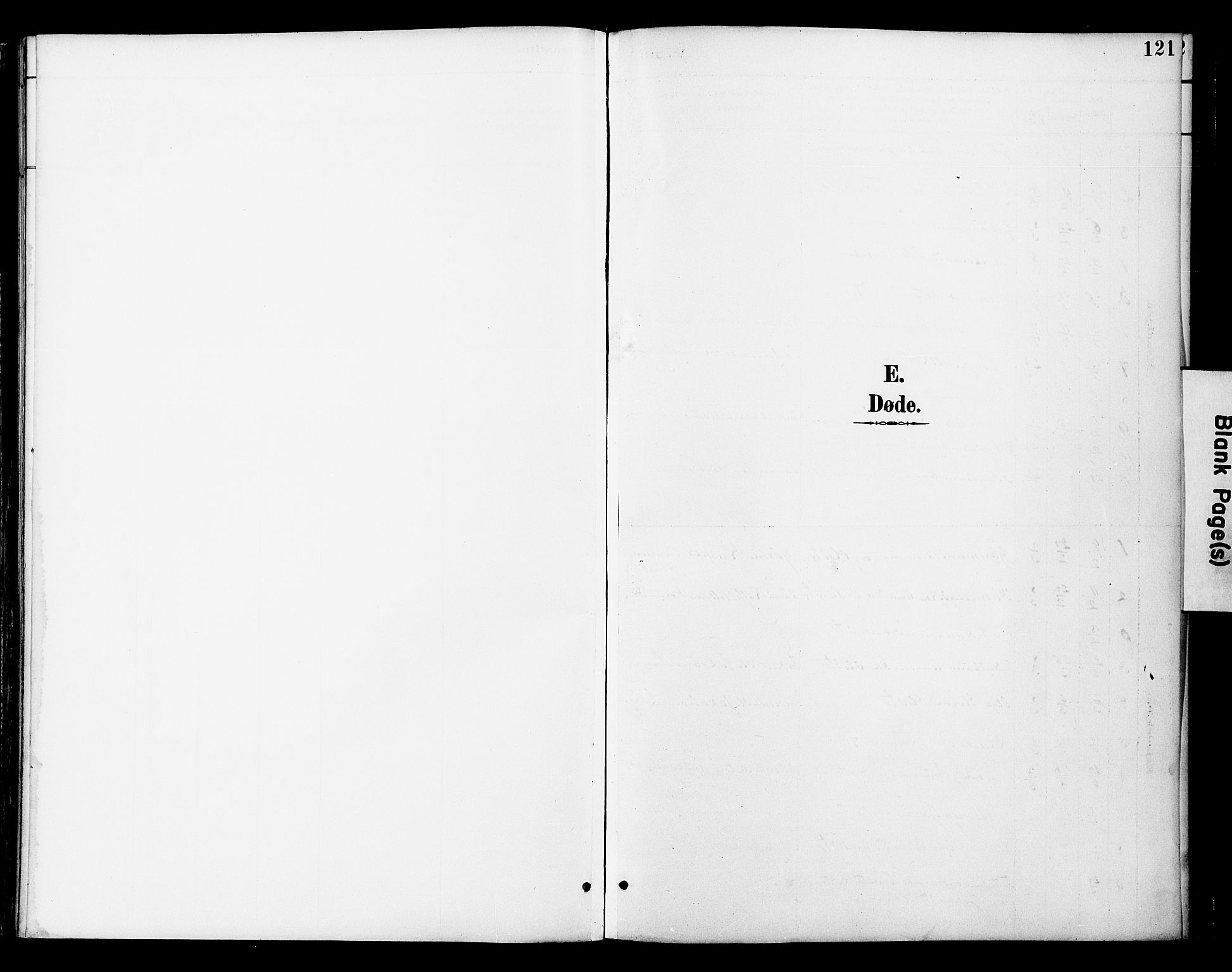 SAT, Ministerialprotokoller, klokkerbøker og fødselsregistre - Nord-Trøndelag, 742/L0409: Ministerialbok nr. 742A02, 1891-1905, s. 121