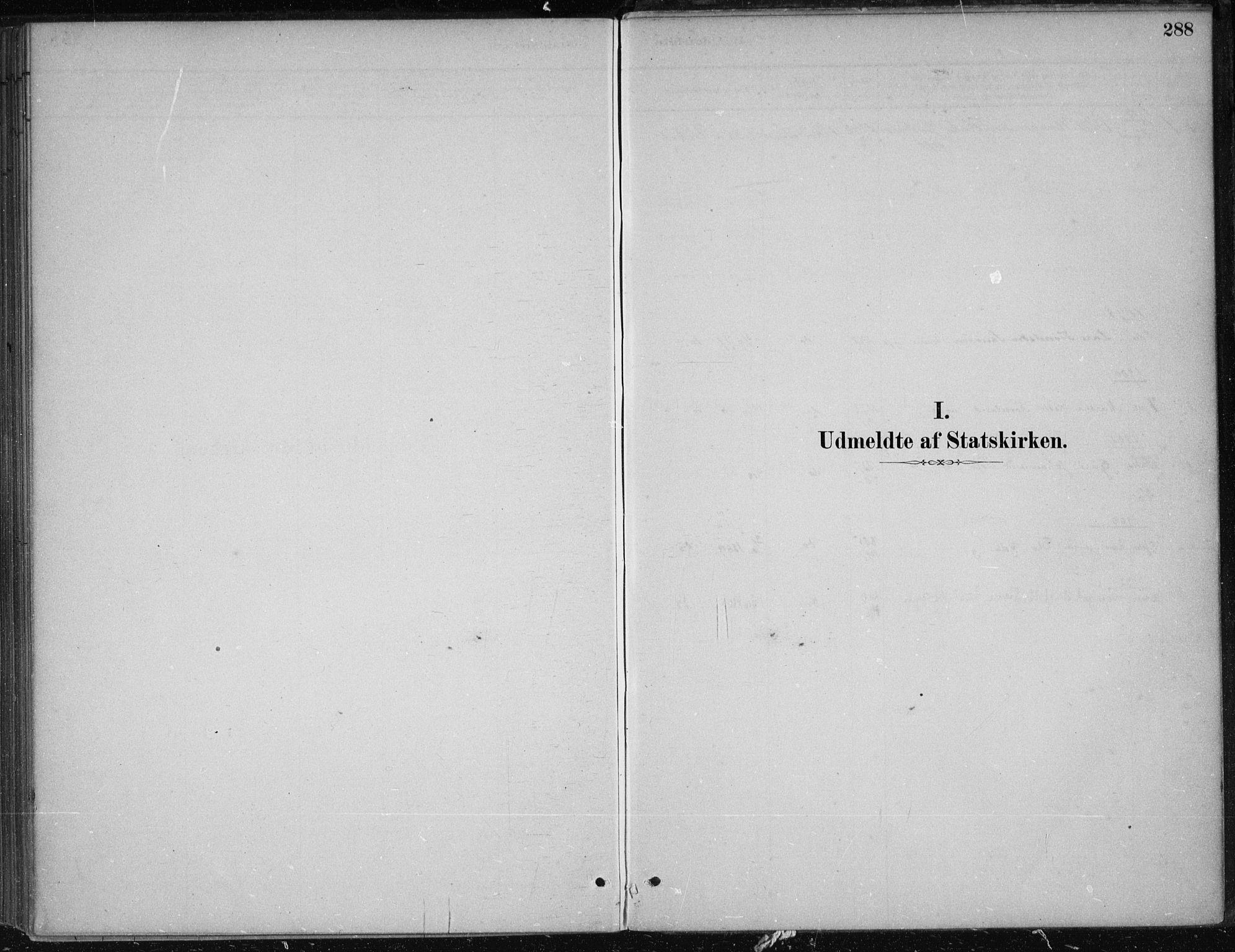 SAB, Kvam Sokneprestembete, H/Haa: Ministerialbok nr. B  1, 1880-1908, s. 288