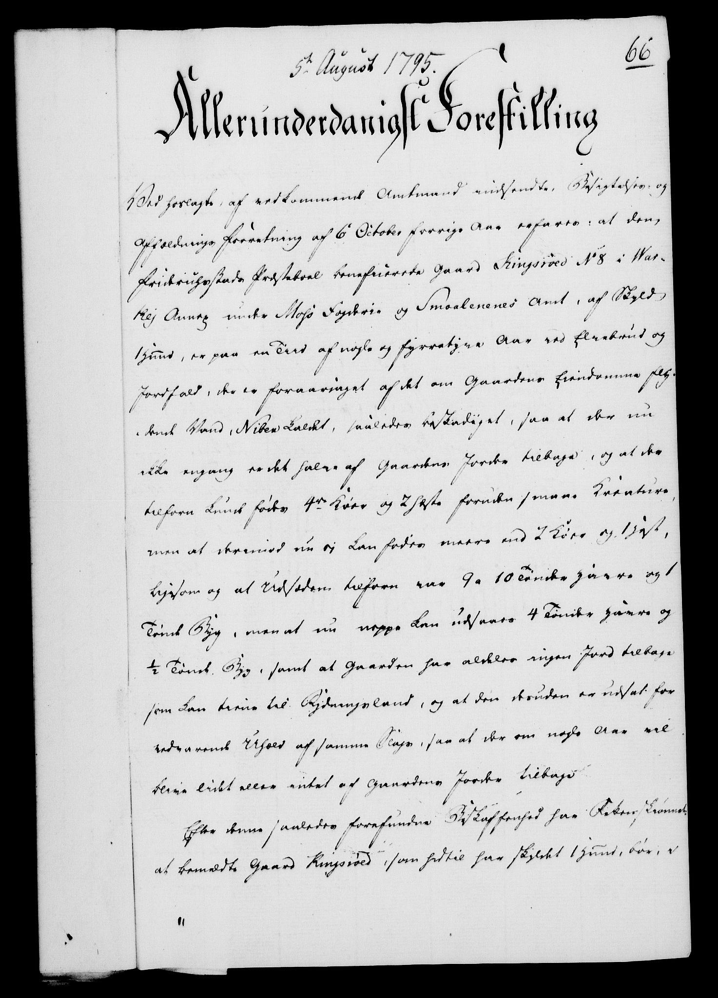 RA, Rentekammeret, Kammerkanselliet, G/Gf/Gfa/L0077: Norsk relasjons- og resolusjonsprotokoll (merket RK 52.77), 1795, s. 343