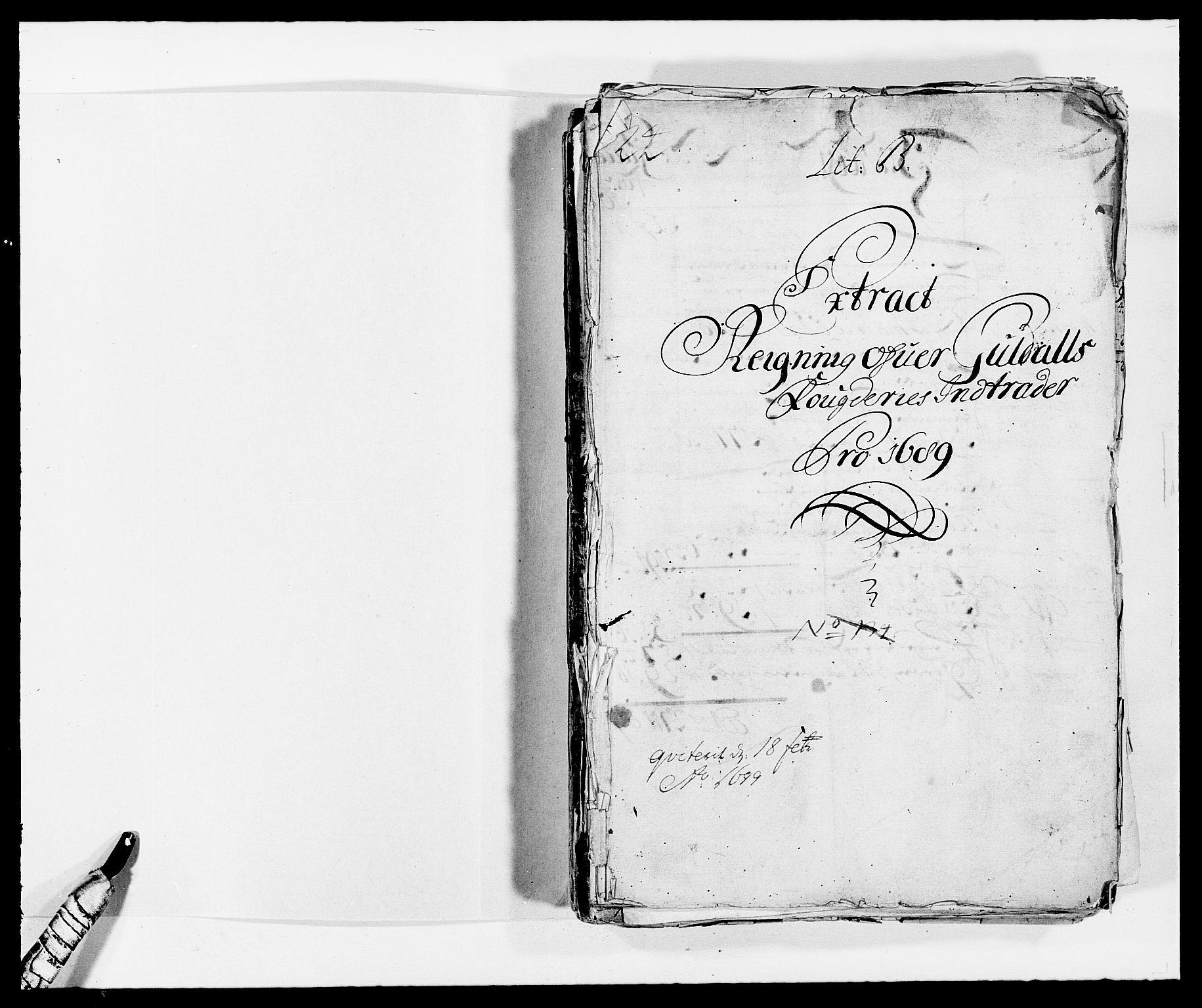 RA, Rentekammeret inntil 1814, Reviderte regnskaper, Fogderegnskap, R59/L3940: Fogderegnskap Gauldal, 1689-1690, s. 2