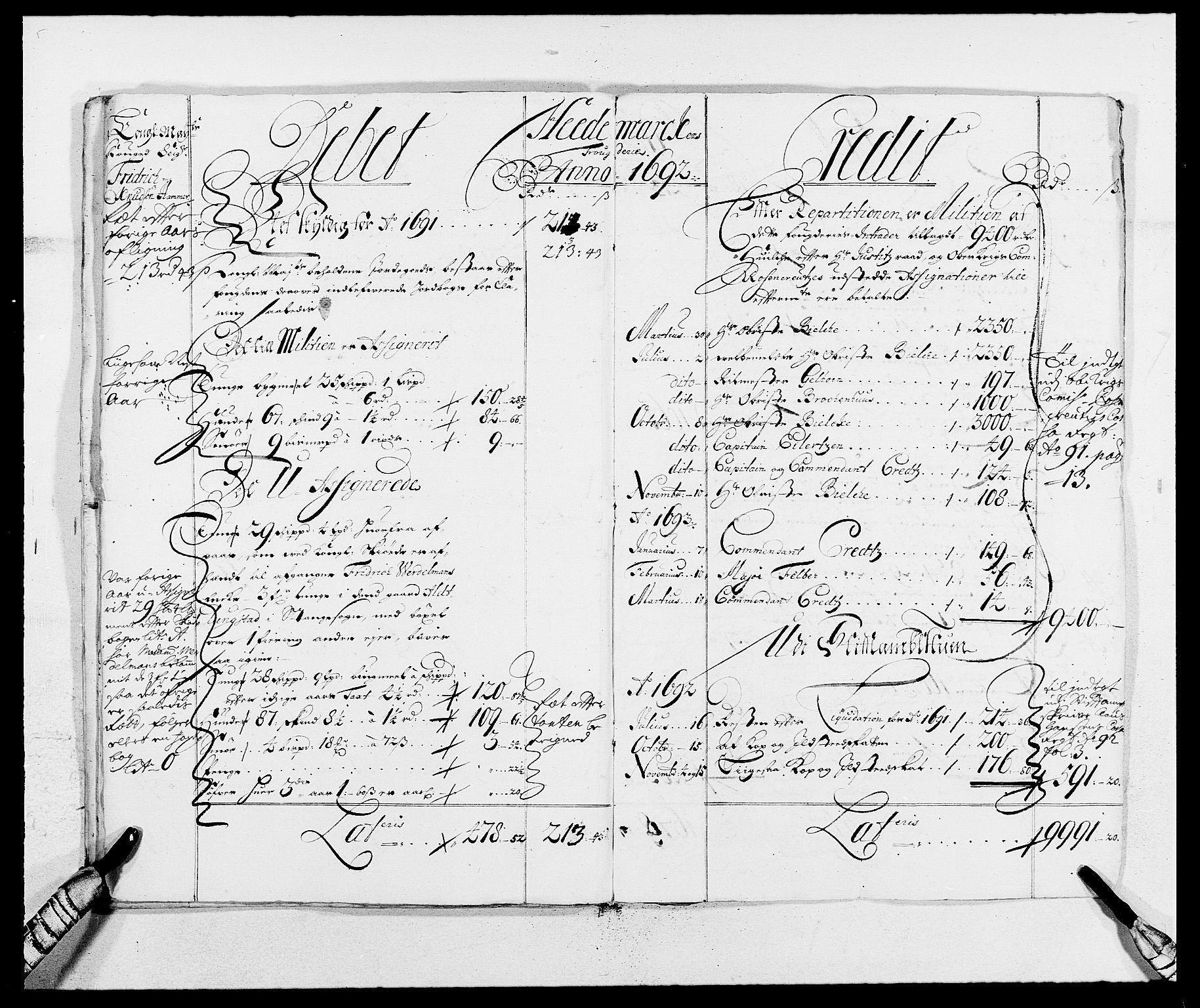 RA, Rentekammeret inntil 1814, Reviderte regnskaper, Fogderegnskap, R16/L1030: Fogderegnskap Hedmark, 1689-1691, s. 22