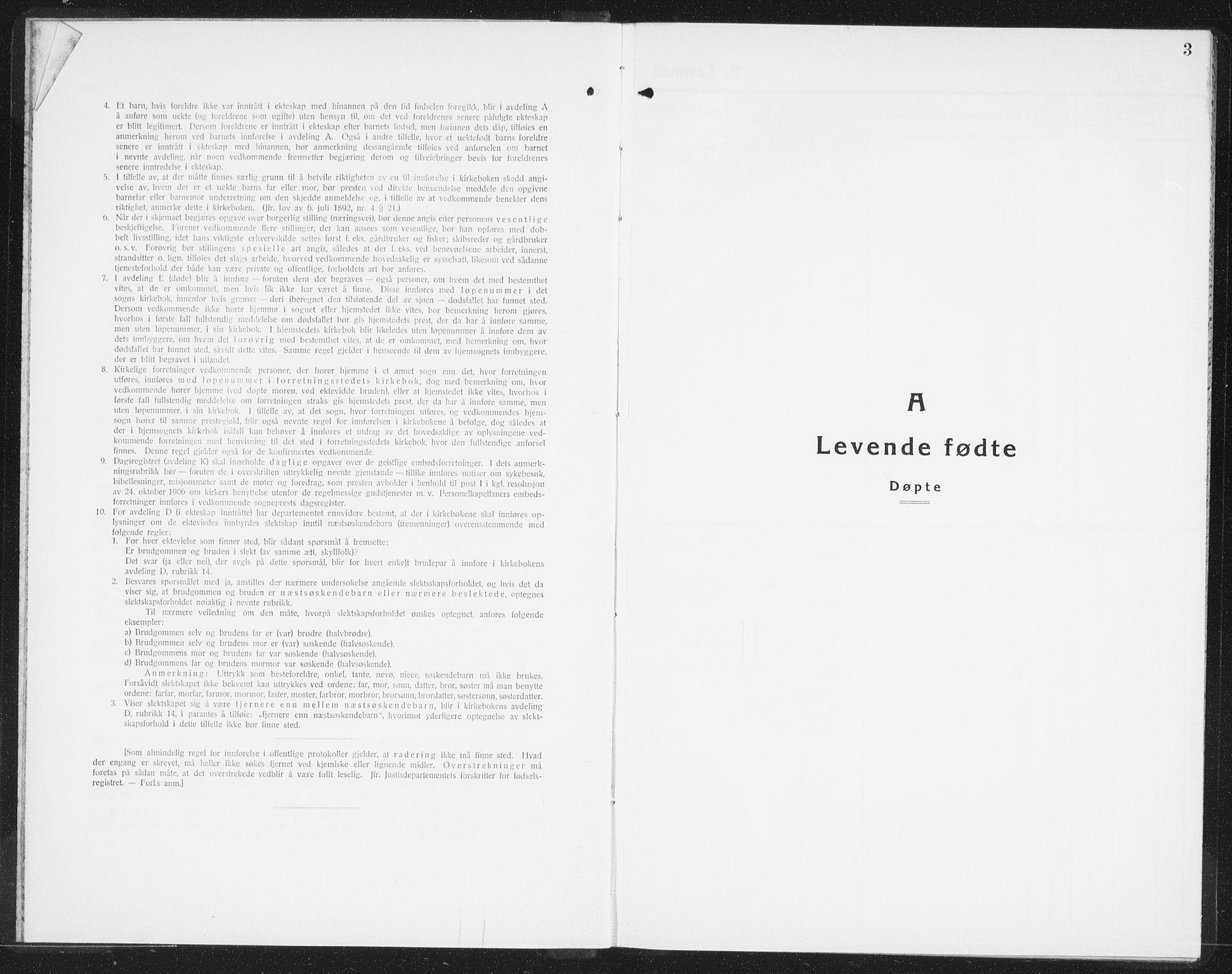 SAO, Halden prestekontor Kirkebøker, F/Fb/L0002: Ministerialbok nr. II 2, 1933-1942, s. 3