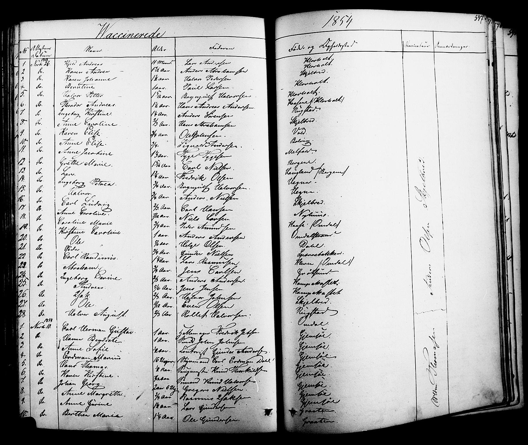 SAKO, Solum kirkebøker, F/Fa/L0006: Ministerialbok nr. I 6, 1844-1855, s. 547