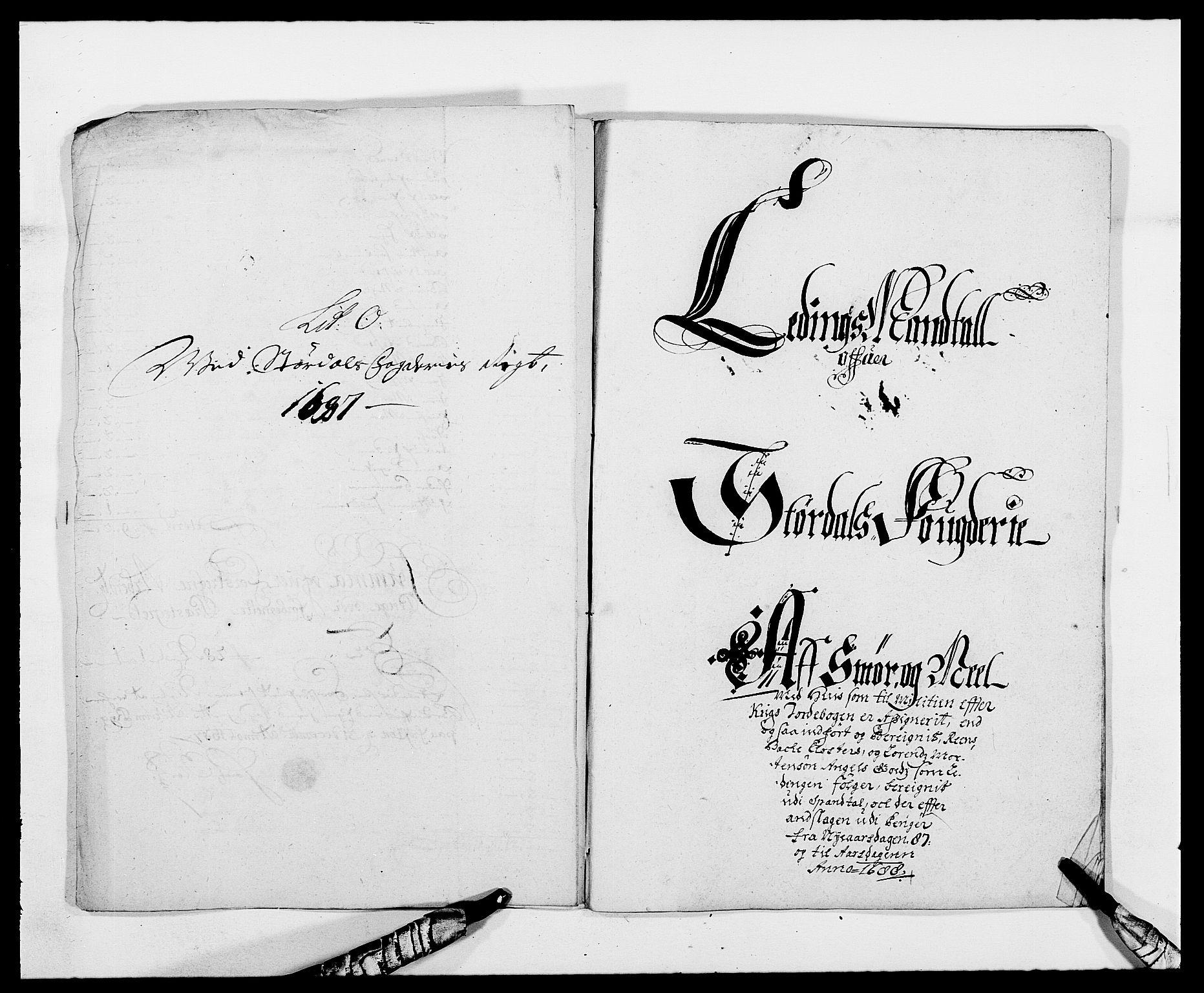 RA, Rentekammeret inntil 1814, Reviderte regnskaper, Fogderegnskap, R62/L4183: Fogderegnskap Stjørdal og Verdal, 1687-1689, s. 100