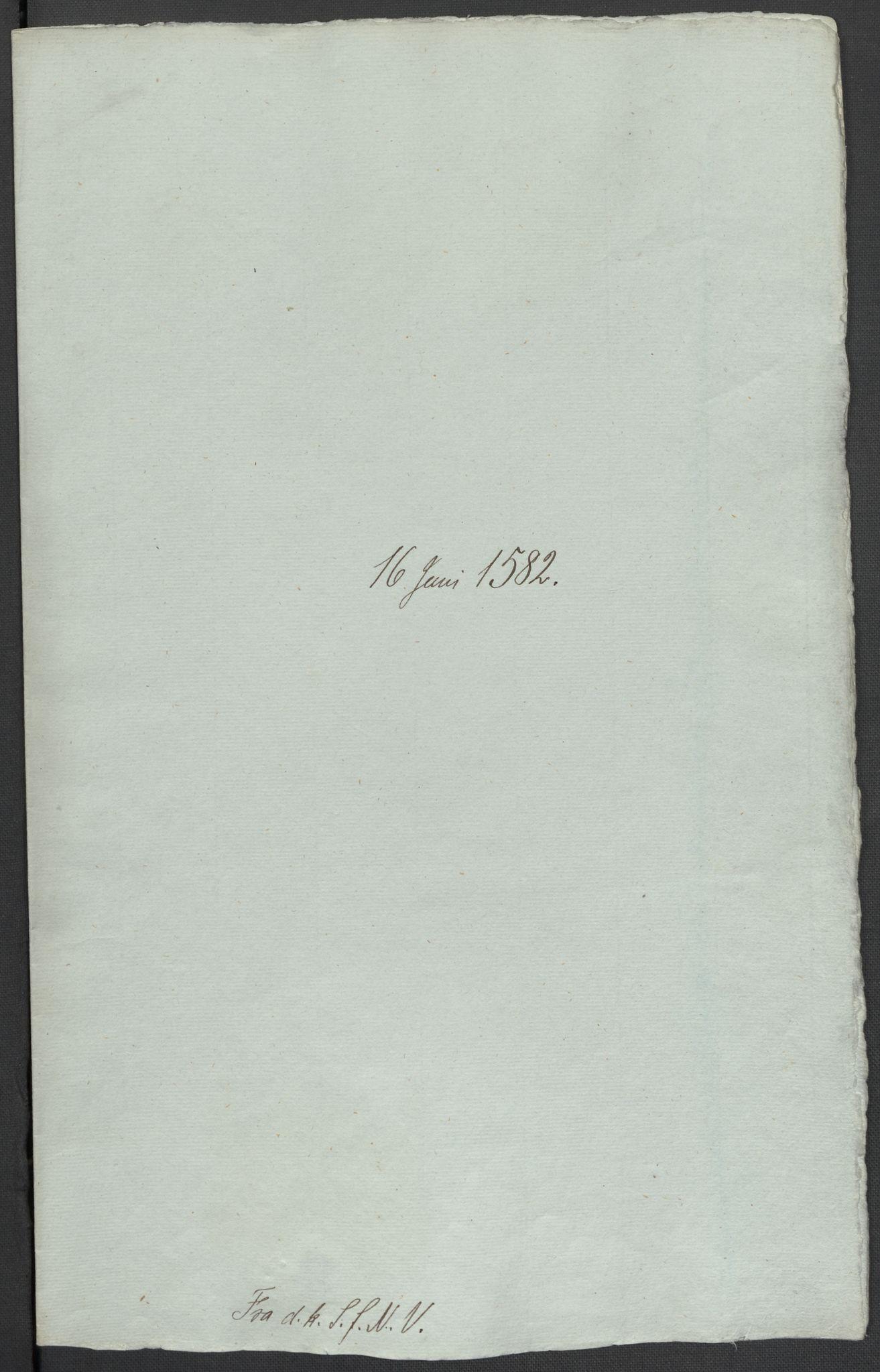RA, Riksarkivets diplomsamling, F02/L0084: Dokumenter, 1582, s. 27