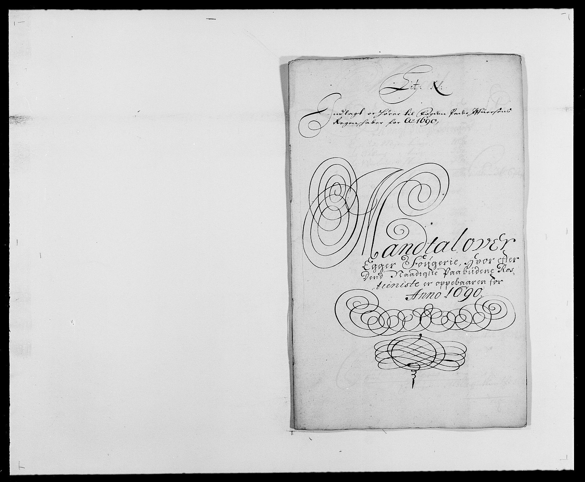 RA, Rentekammeret inntil 1814, Reviderte regnskaper, Fogderegnskap, R28/L1689: Fogderegnskap Eiker og Lier, 1690-1691, s. 127