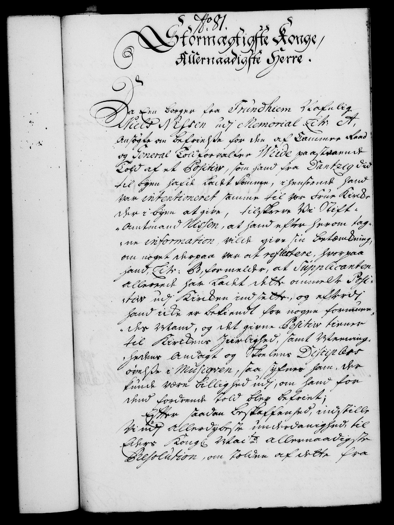RA, Rentekammeret, Kammerkanselliet, G/Gf/Gfa/L0019: Norsk relasjons- og resolusjonsprotokoll (merket RK 52.19), 1736, s. 535