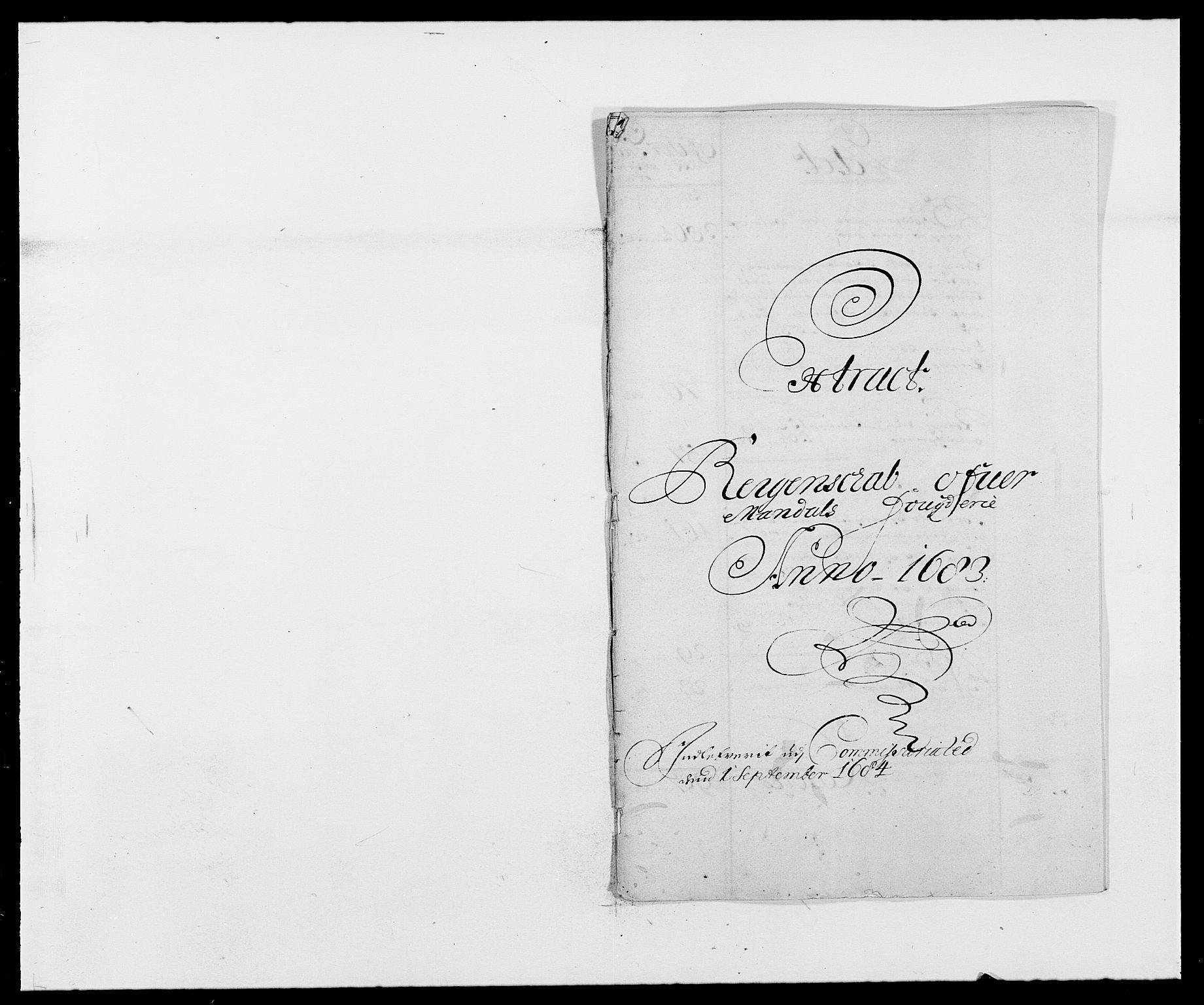 RA, Rentekammeret inntil 1814, Reviderte regnskaper, Fogderegnskap, R42/L2541: Mandal fogderi, 1681-1684, s. 137