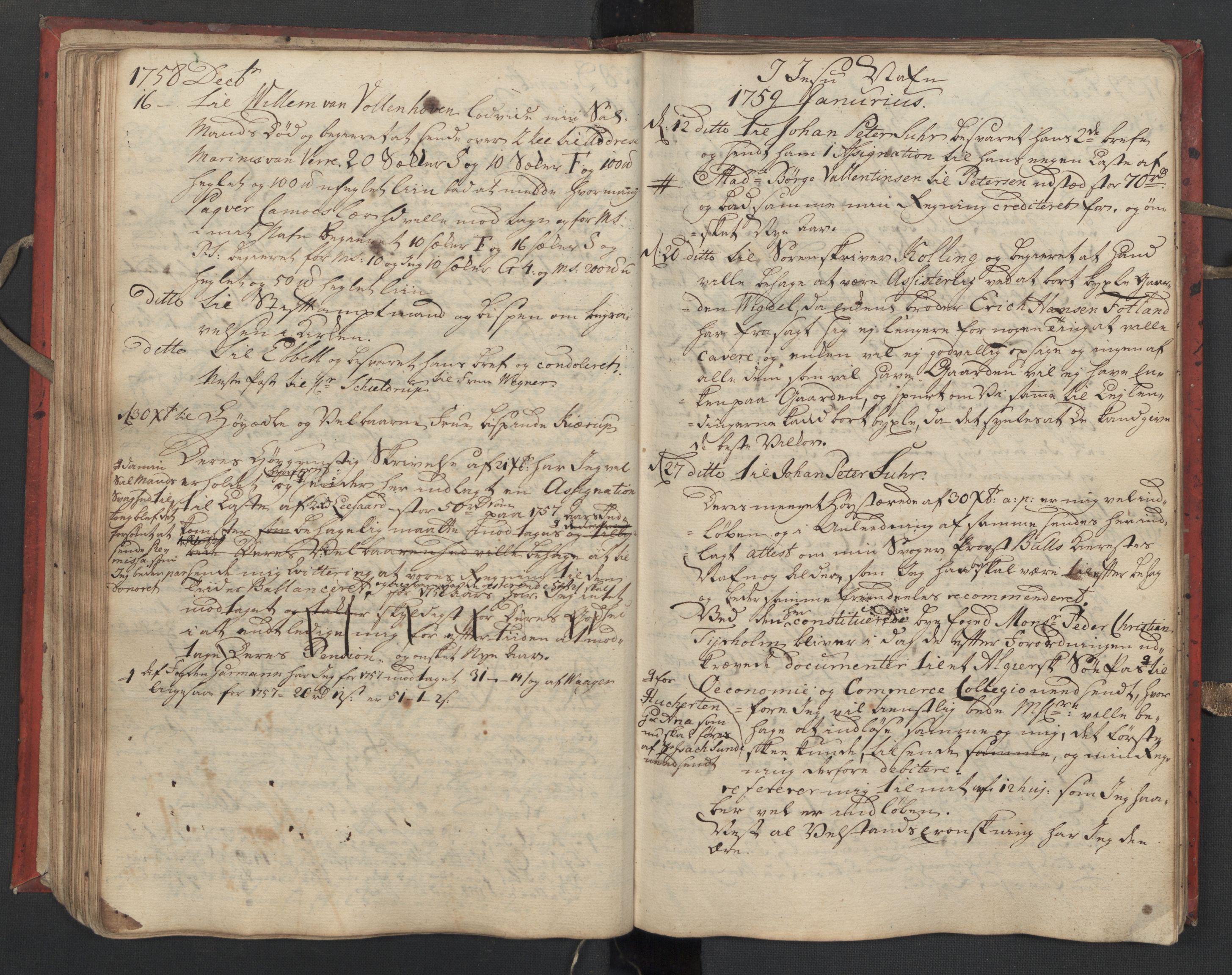 SAST, Pa 0119 - Smith, Lauritz Andersen og Lauritz Lauritzen, O/L0002: Kopibok, 1755-1766, s. 75