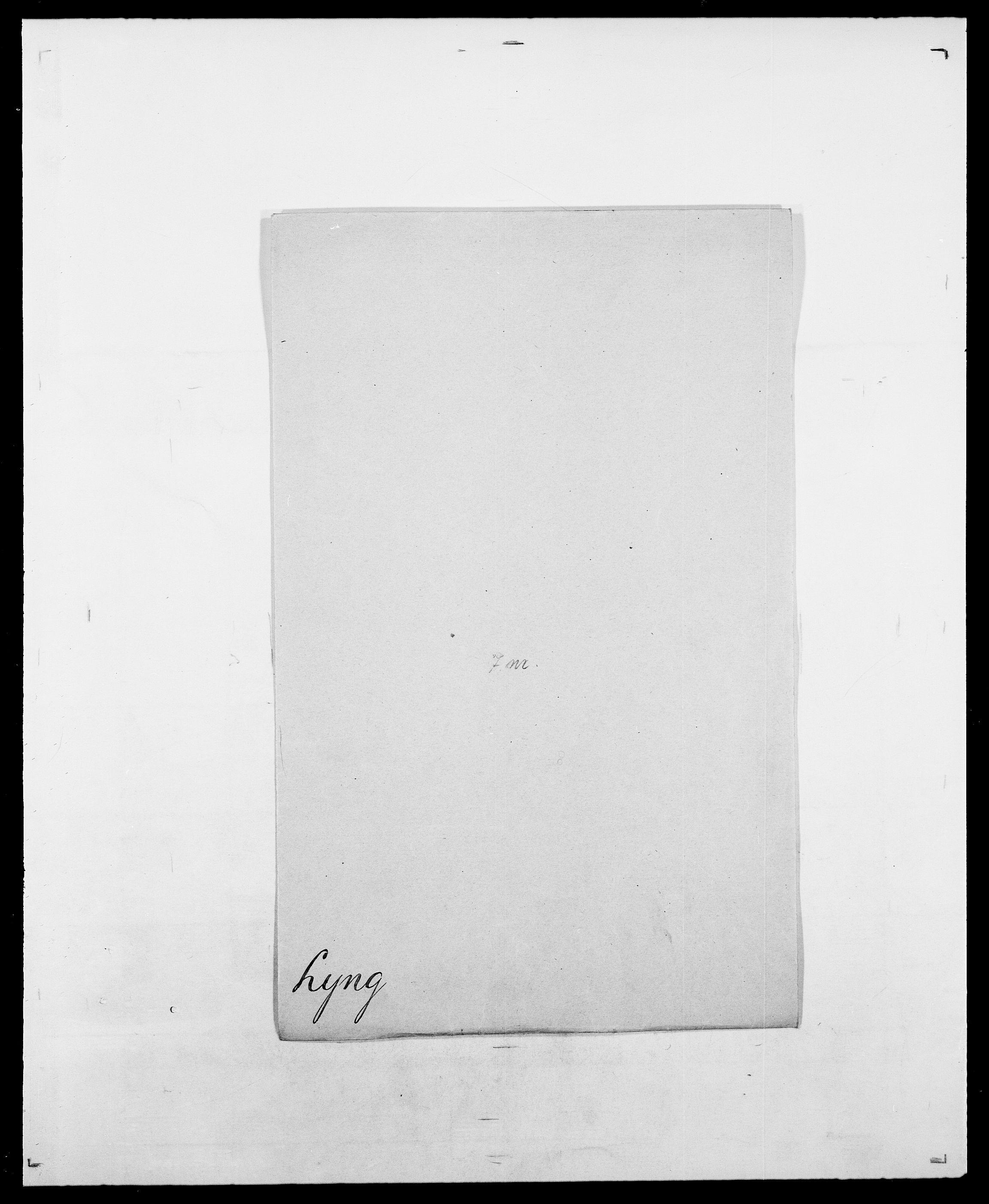 SAO, Delgobe, Charles Antoine - samling, D/Da/L0024: Lobech - Lærum, s. 719