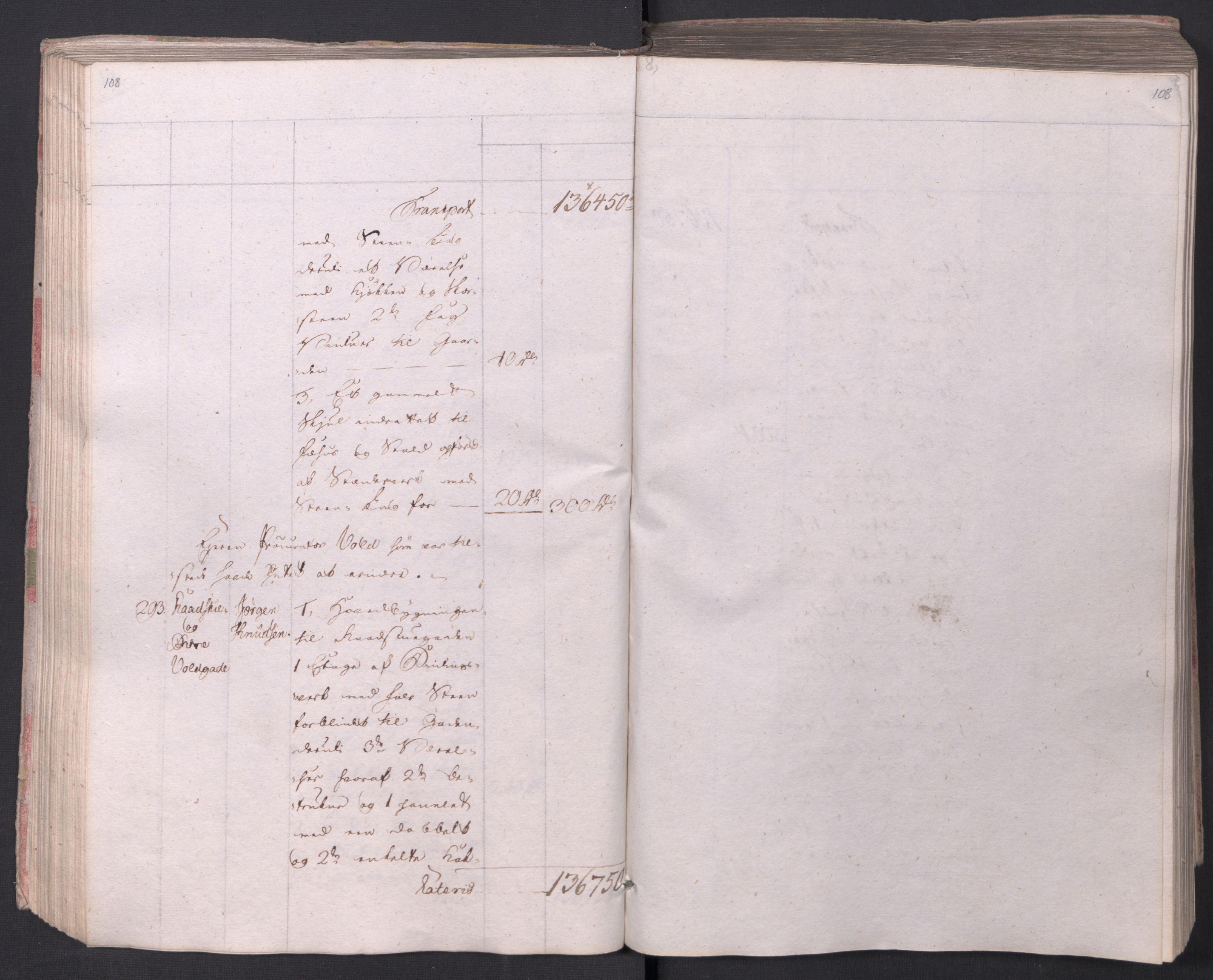 SAO, Kristiania stiftamt, I/Ia/L0015: Branntakster, 1797, s. 108