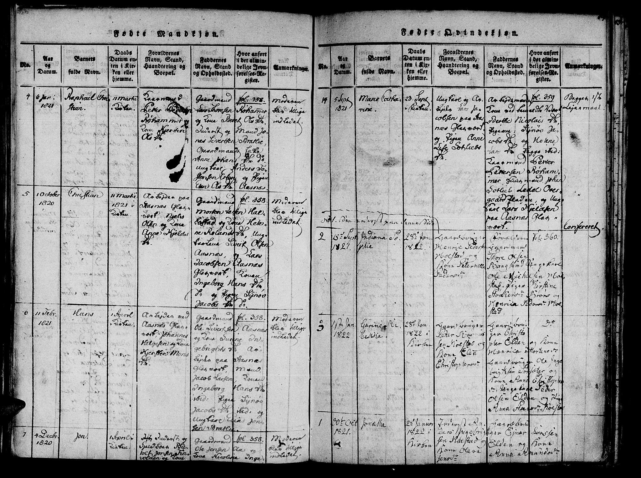 SAT, Ministerialprotokoller, klokkerbøker og fødselsregistre - Nord-Trøndelag, 741/L0387: Ministerialbok nr. 741A03 /3, 1817-1822, s. 84