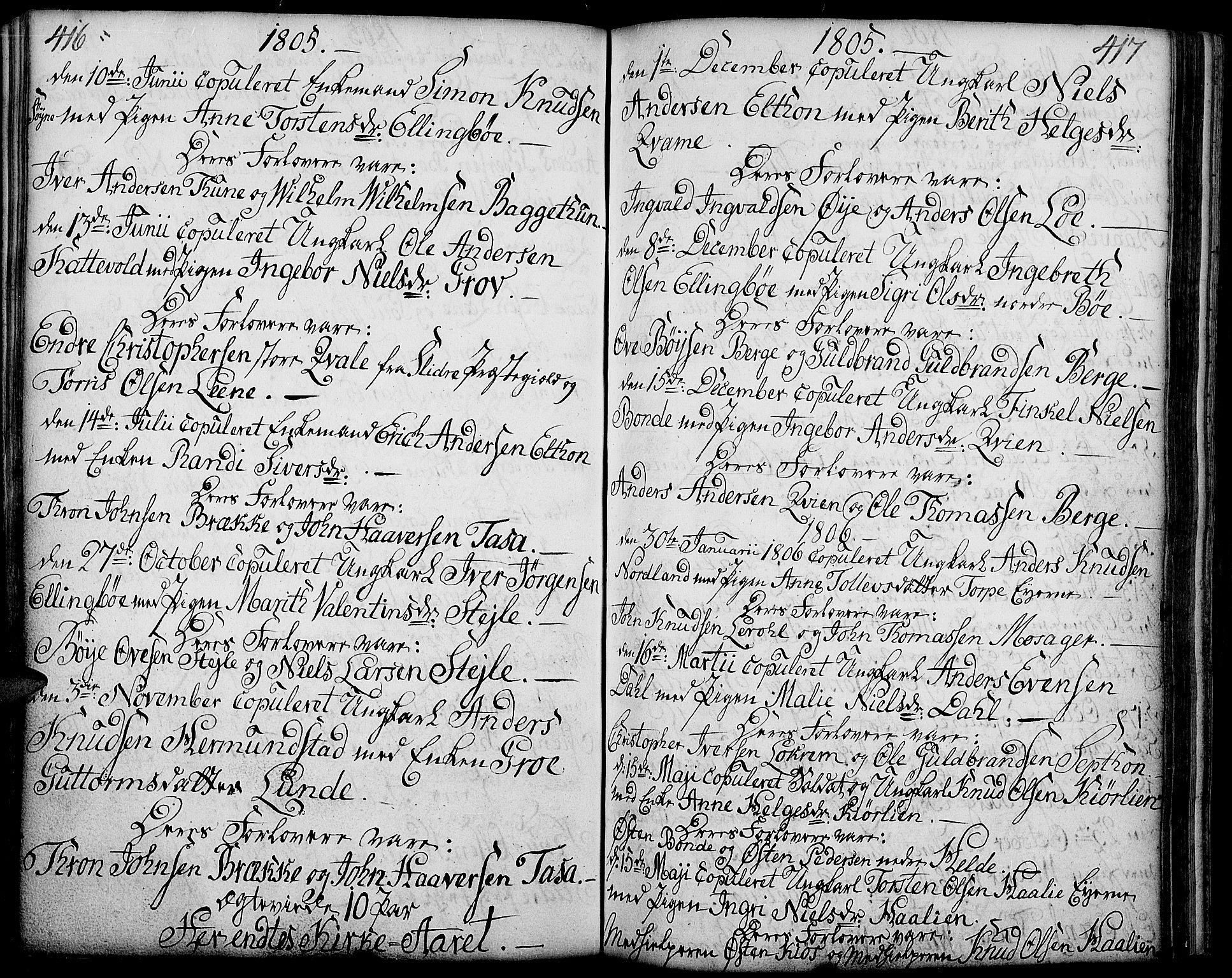 SAH, Vang prestekontor, Valdres, Ministerialbok nr. 2, 1796-1808, s. 416-417