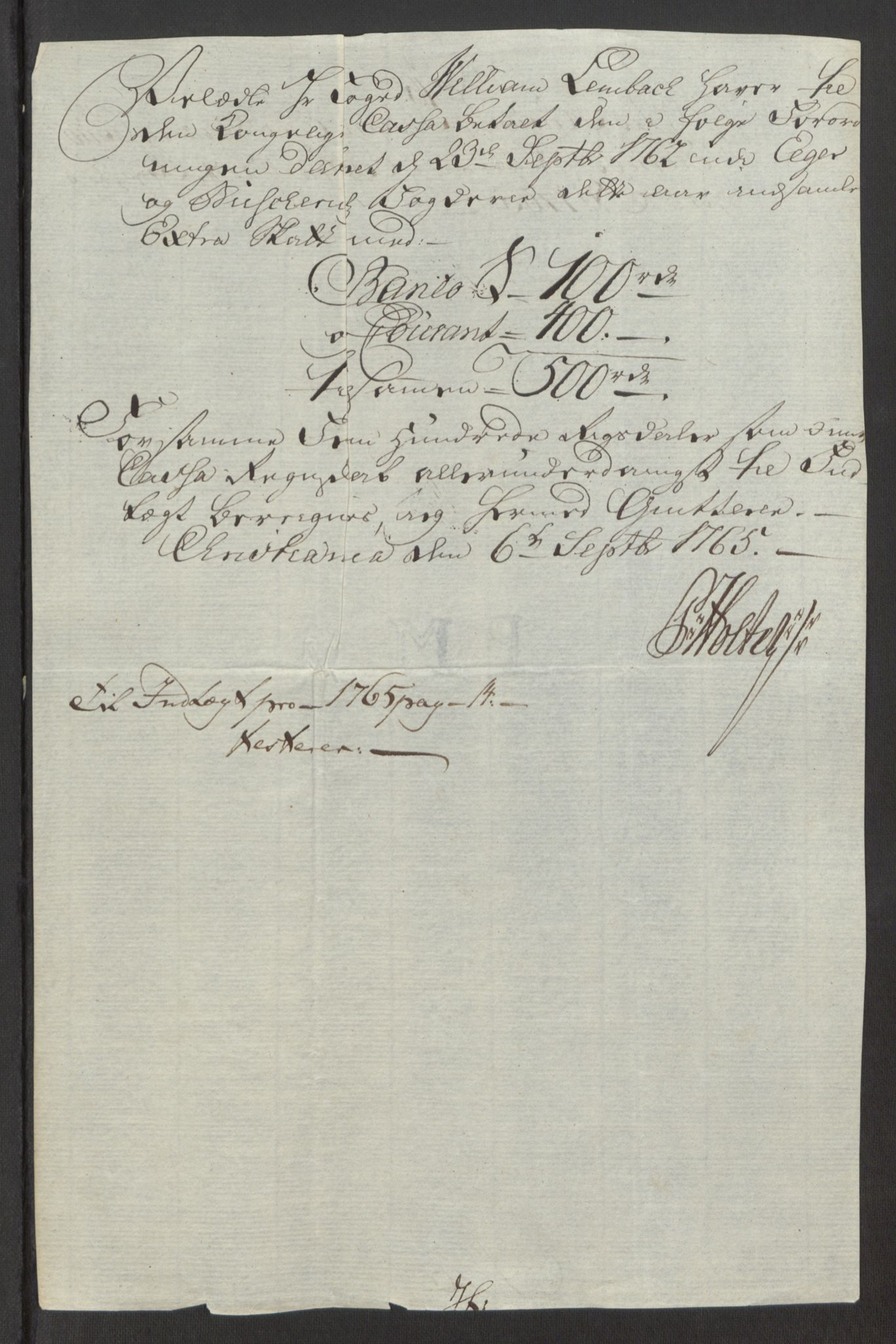 RA, Rentekammeret inntil 1814, Reviderte regnskaper, Fogderegnskap, R31/L1834: Ekstraskatten Hurum, Røyken, Eiker, Lier og Buskerud, 1765, s. 469