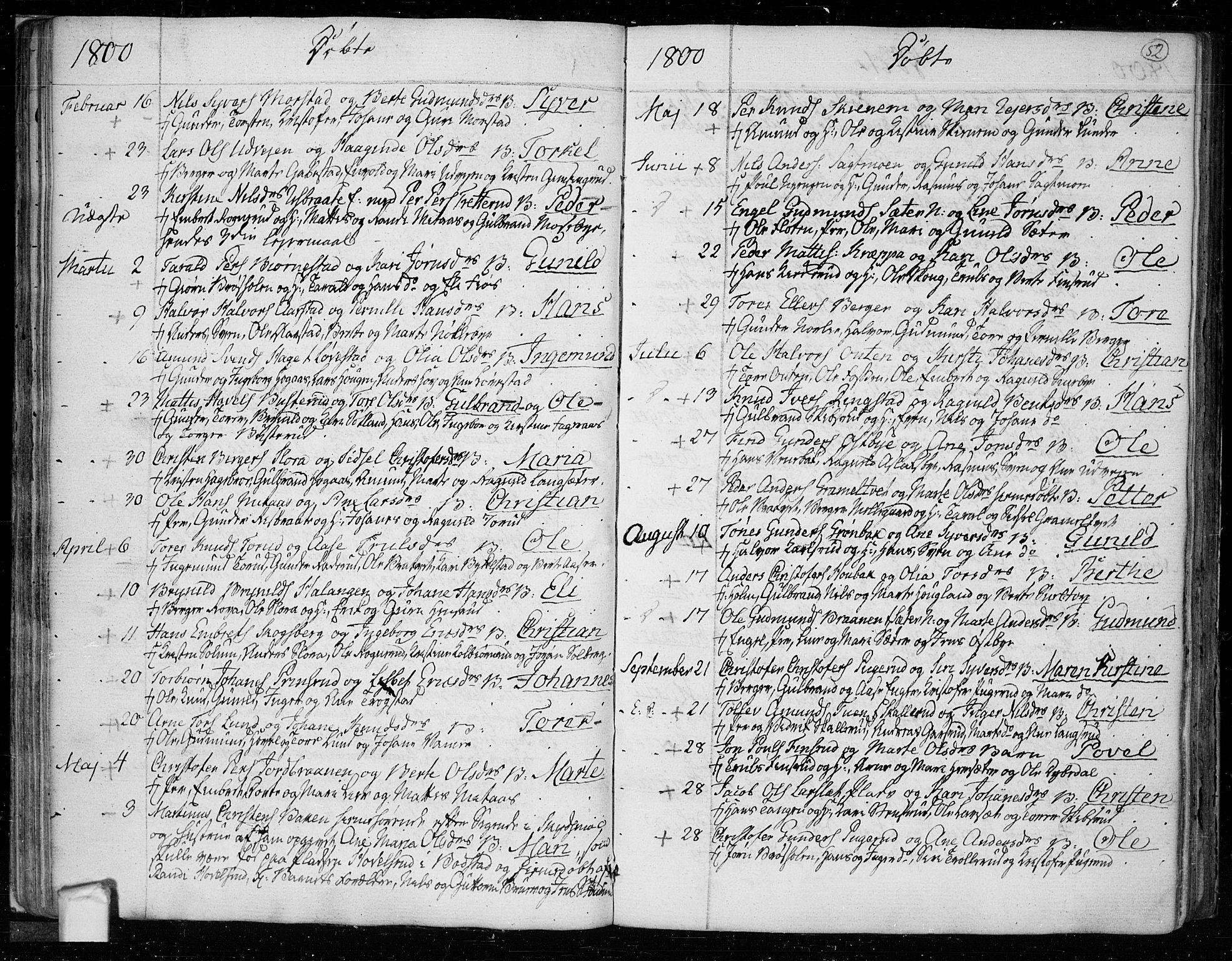 SAO, Trøgstad prestekontor Kirkebøker, F/Fa/L0005: Ministerialbok nr. I 5, 1784-1814, s. 52