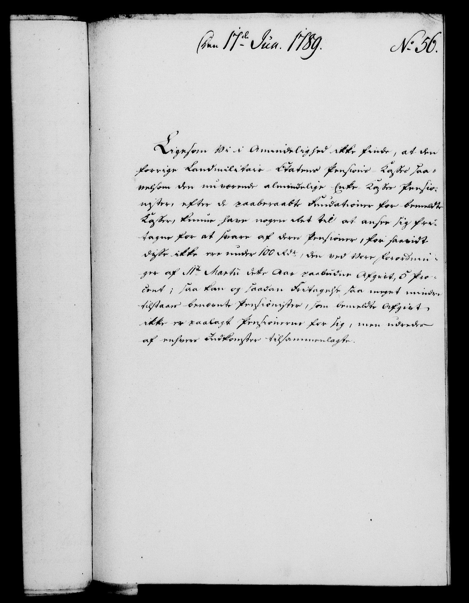 RA, Rentekammeret, Kammerkanselliet, G/Gf/Gfa/L0071: Norsk relasjons- og resolusjonsprotokoll (merket RK 52.71), 1789, s. 344