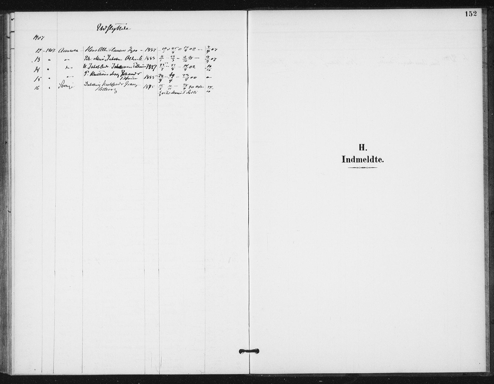 SAT, Ministerialprotokoller, klokkerbøker og fødselsregistre - Sør-Trøndelag, 654/L0664: Ministerialbok nr. 654A02, 1895-1907, s. 152