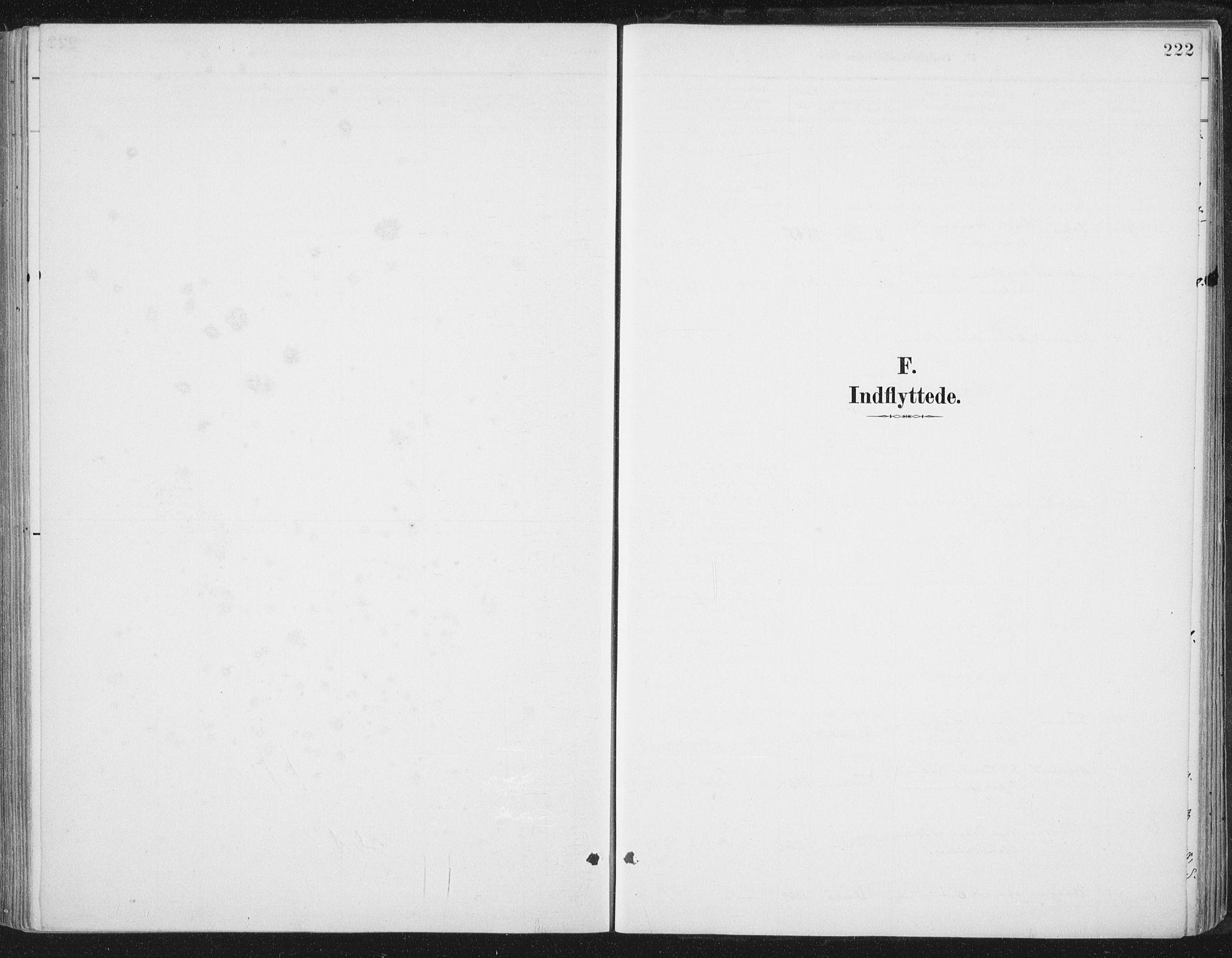 SAT, Ministerialprotokoller, klokkerbøker og fødselsregistre - Nord-Trøndelag, 784/L0673: Ministerialbok nr. 784A08, 1888-1899, s. 222