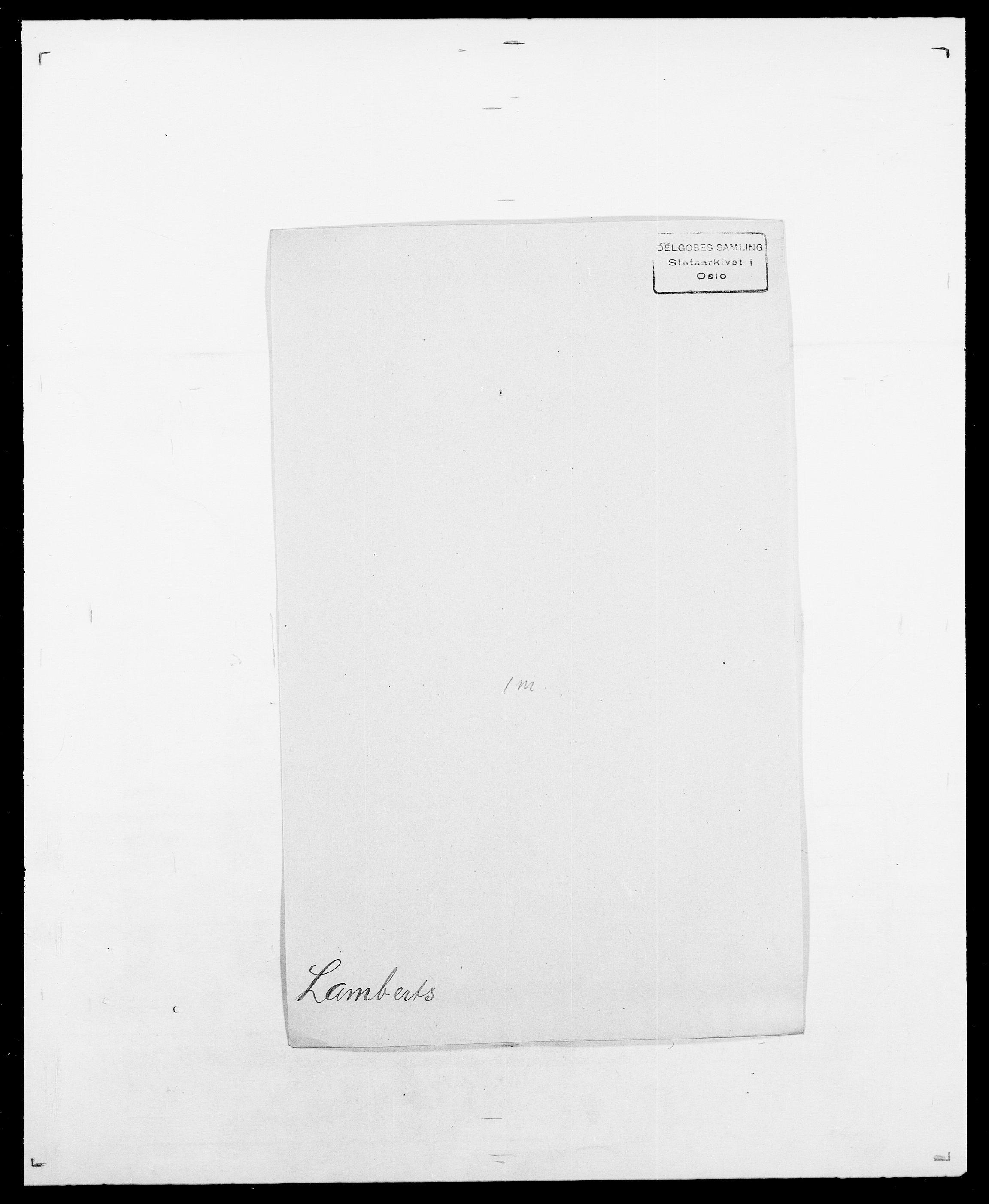 SAO, Delgobe, Charles Antoine - samling, D/Da/L0022: Krog - Lasteen, s. 434