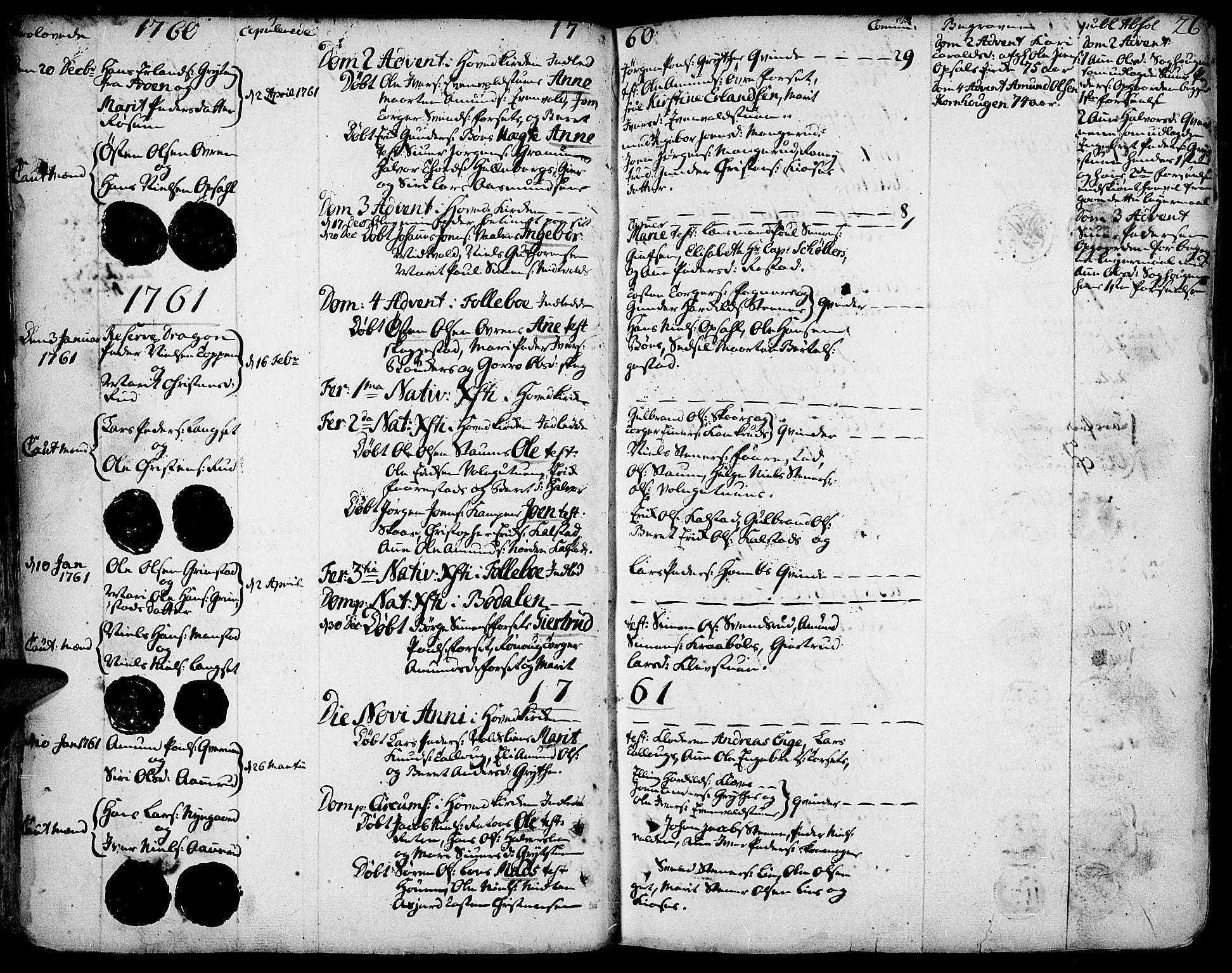 SAH, Gausdal prestekontor, Ministerialbok nr. 3, 1758-1809, s. 26