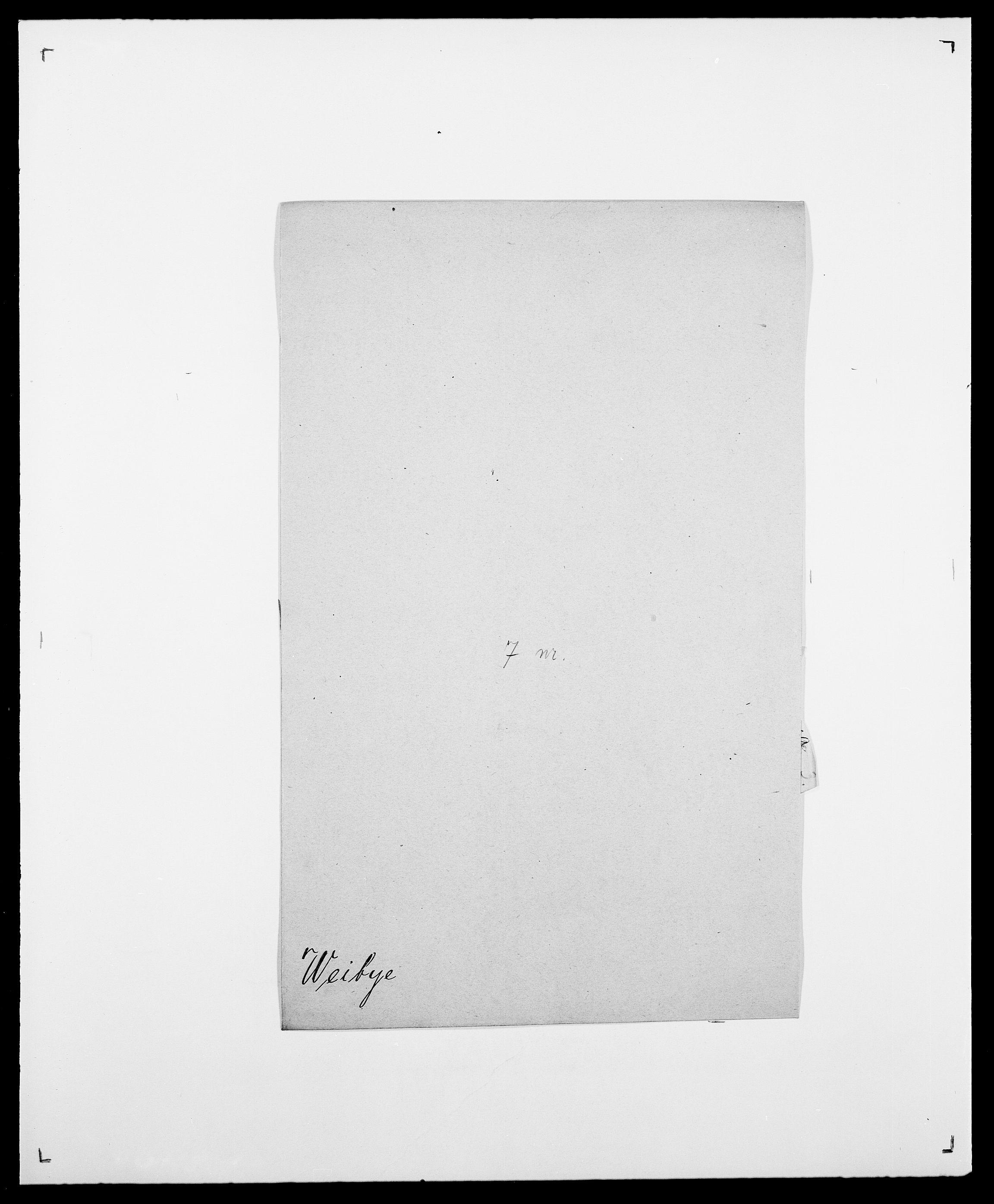 SAO, Delgobe, Charles Antoine - samling, D/Da/L0040: Usgaard - Velund, s. 527