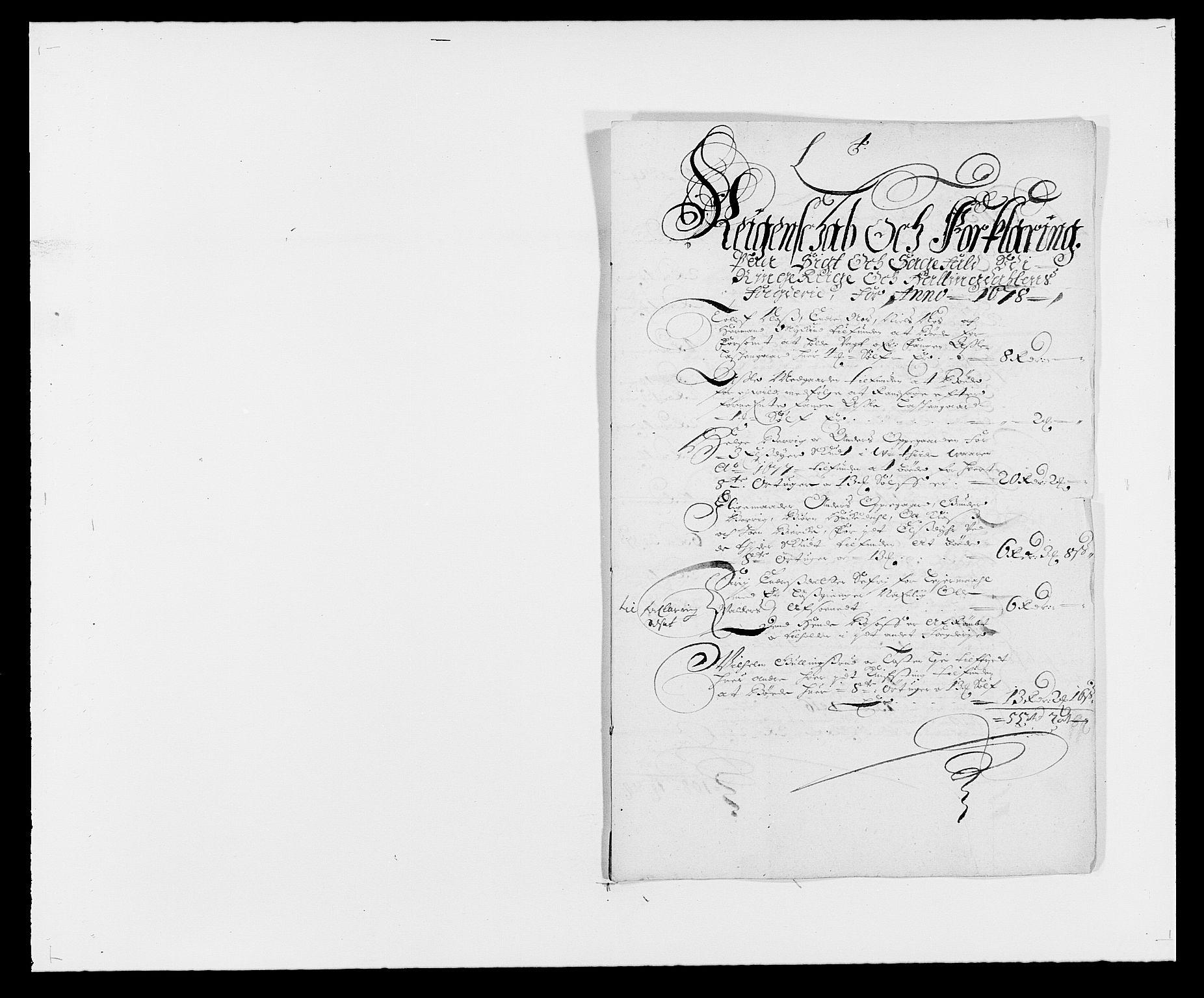 RA, Rentekammeret inntil 1814, Reviderte regnskaper, Fogderegnskap, R21/L1443: Fogderegnskap Ringerike og Hallingdal, 1678-1680, s. 111