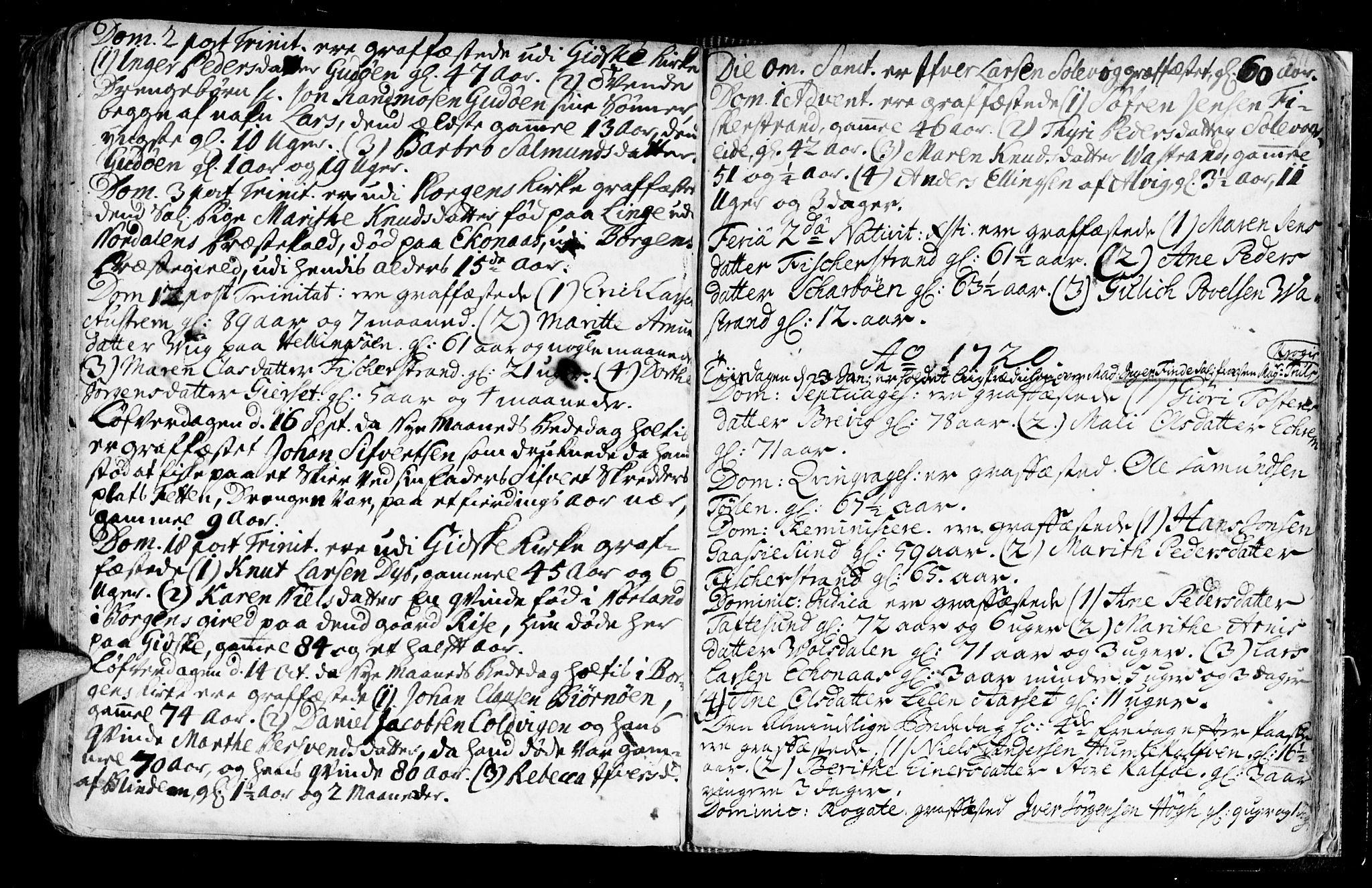 SAT, Ministerialprotokoller, klokkerbøker og fødselsregistre - Møre og Romsdal, 528/L0390: Ministerialbok nr. 528A01, 1698-1739, s. 510-511