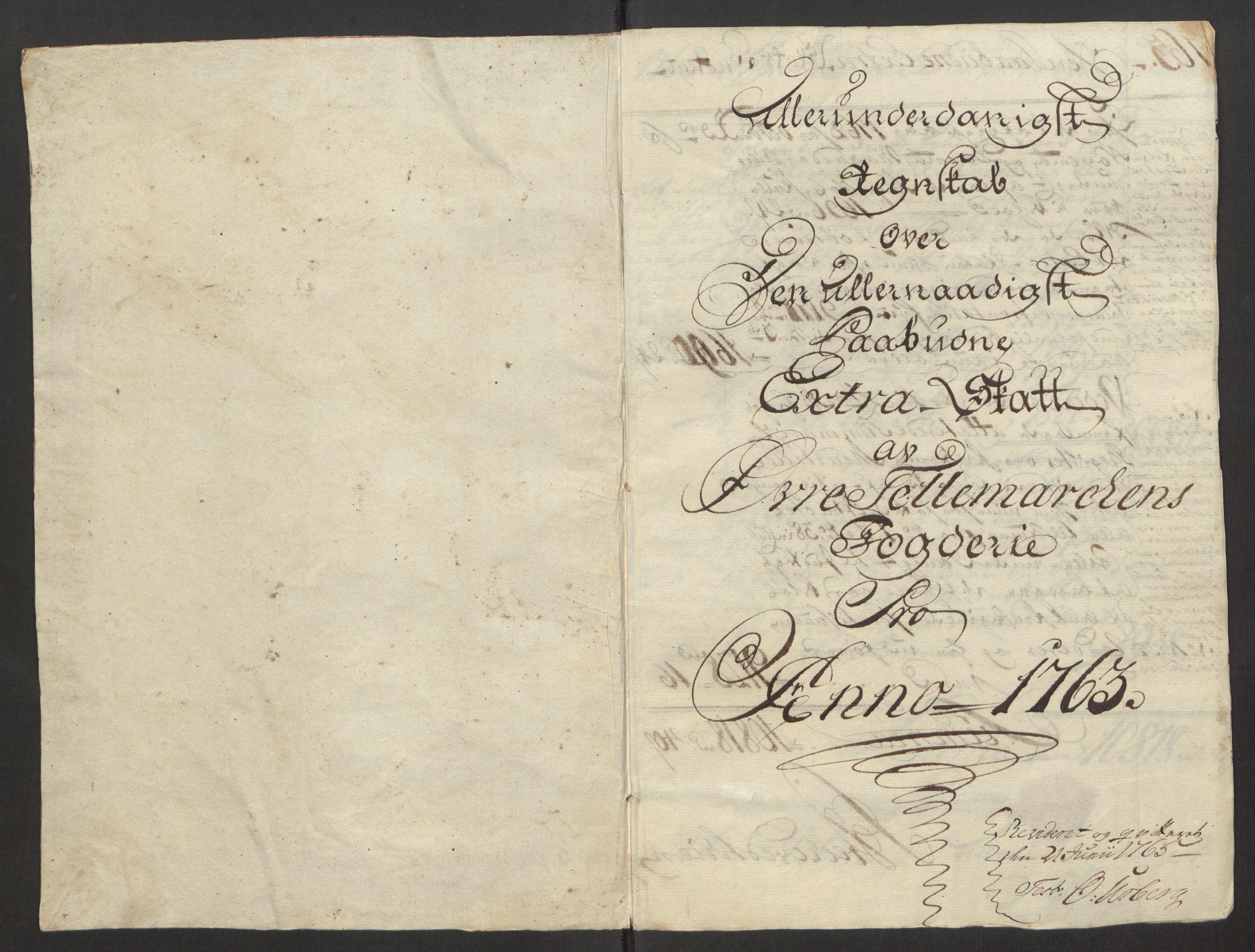RA, Rentekammeret inntil 1814, Reviderte regnskaper, Fogderegnskap, R38/L2293: Ekstraskatten Øvre Telemark, 1762-1770, s. 14