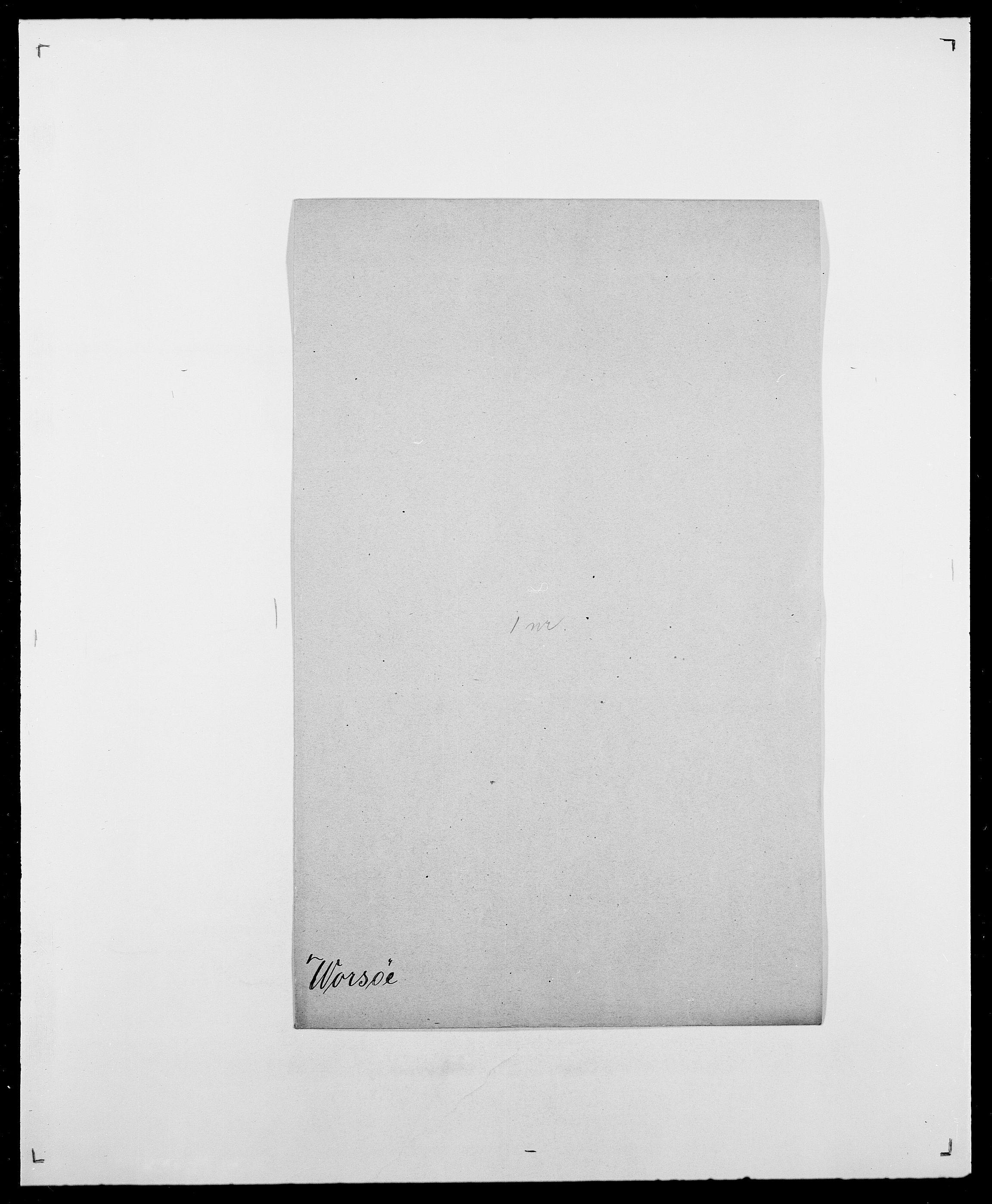 SAO, Delgobe, Charles Antoine - samling, D/Da/L0042: Vilain - Wulf, Wulff, se også Wolf, s. 694