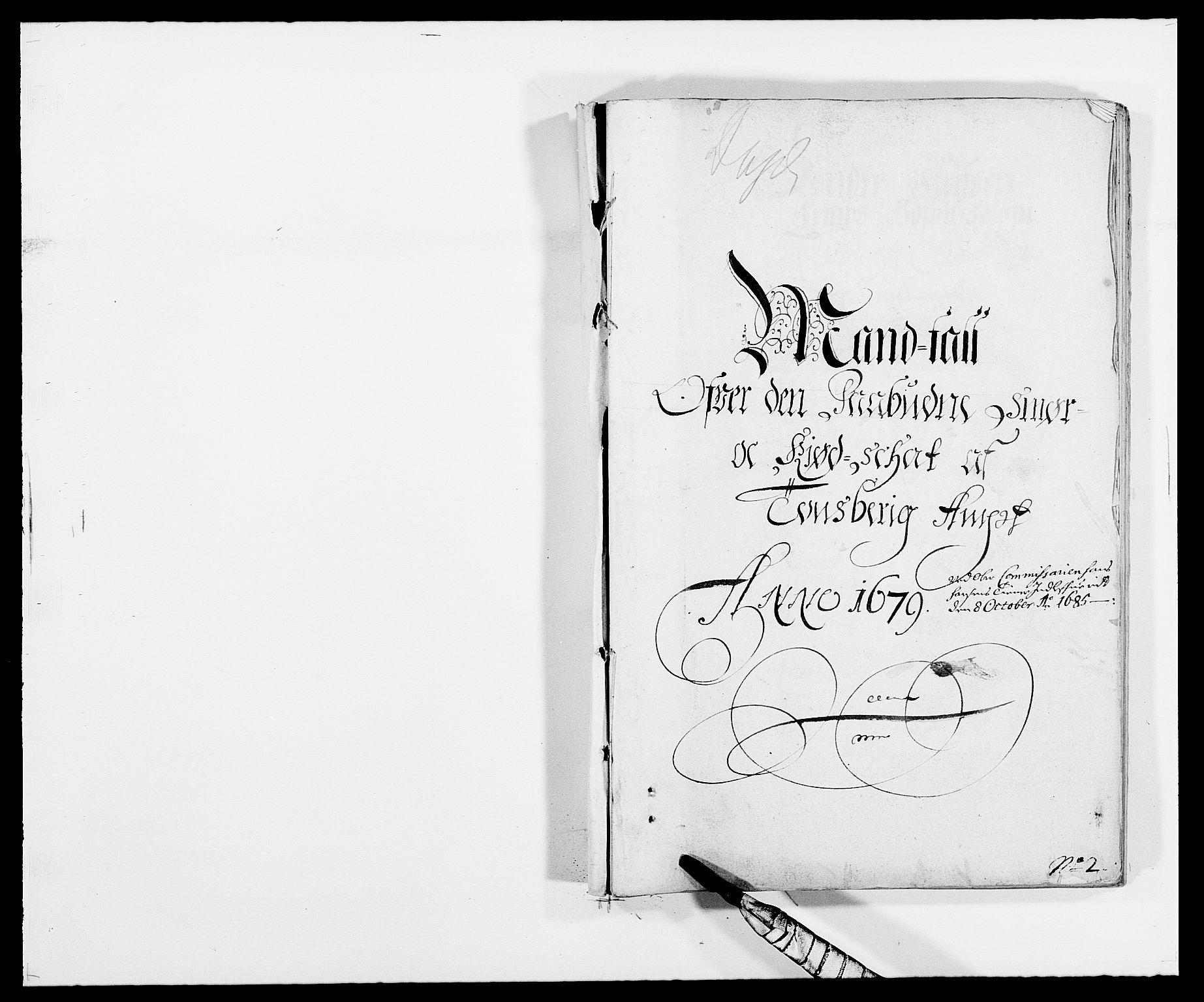 RA, Rentekammeret inntil 1814, Reviderte regnskaper, Fogderegnskap, R32/L1847: Fogderegnskap Jarlsberg grevskap, 1679-1680, s. 112