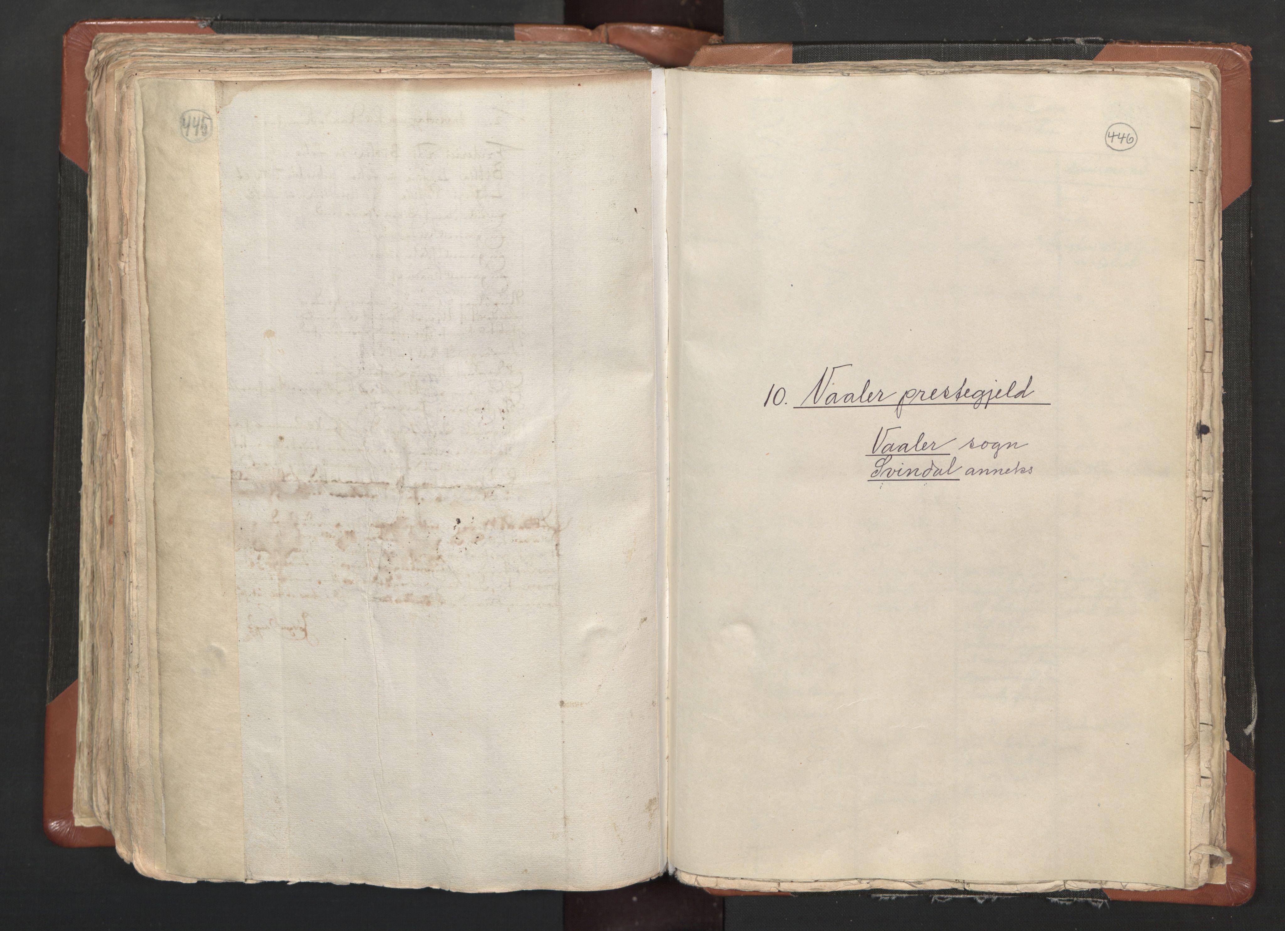 RA, Sogneprestenes manntall 1664-1666, nr. 1: Nedre Borgesyssel prosti, 1664-1666, s. 445-446