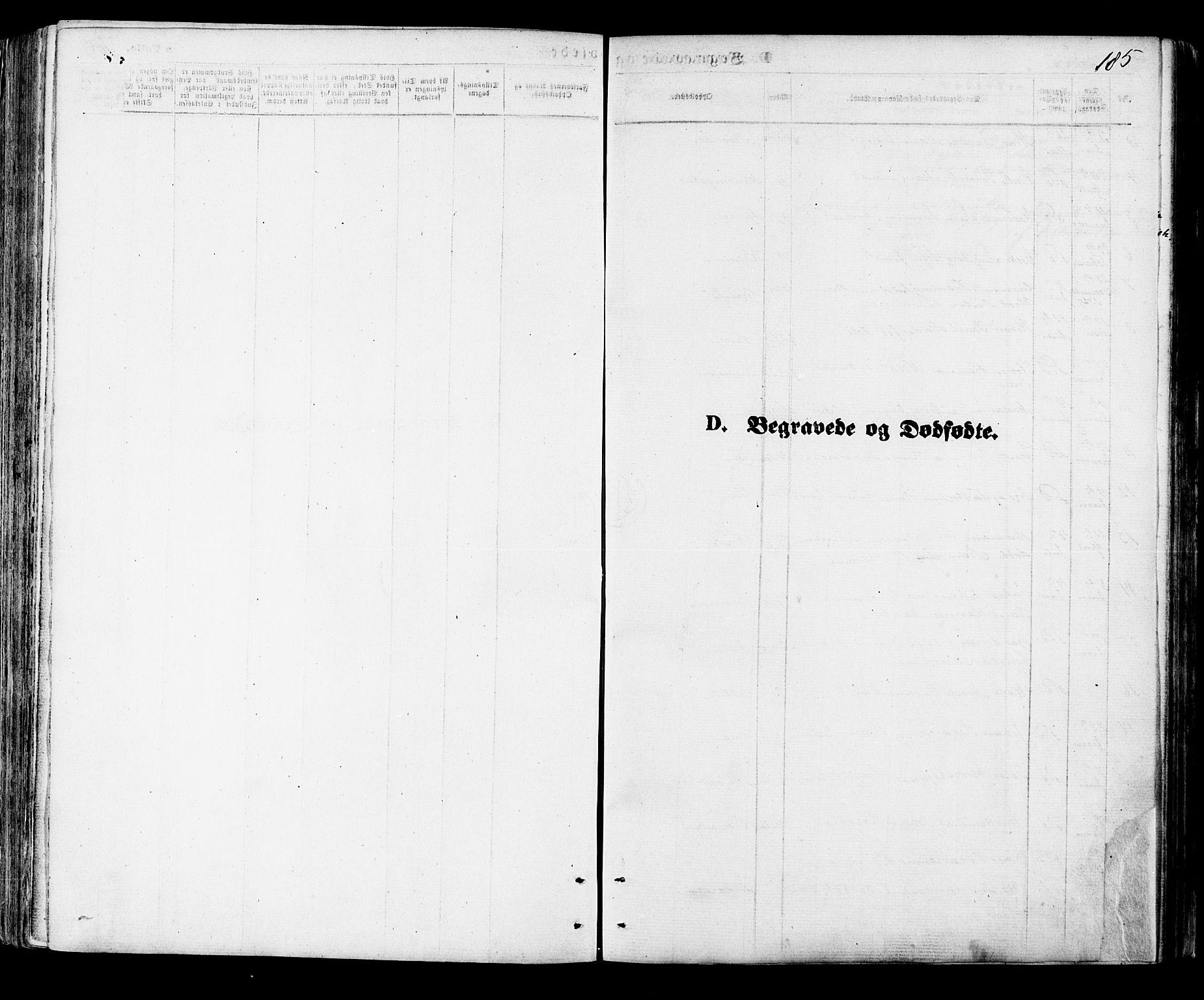 SAT, Ministerialprotokoller, klokkerbøker og fødselsregistre - Nordland, 891/L1301: Ministerialbok nr. 891A06, 1870-1878, s. 185