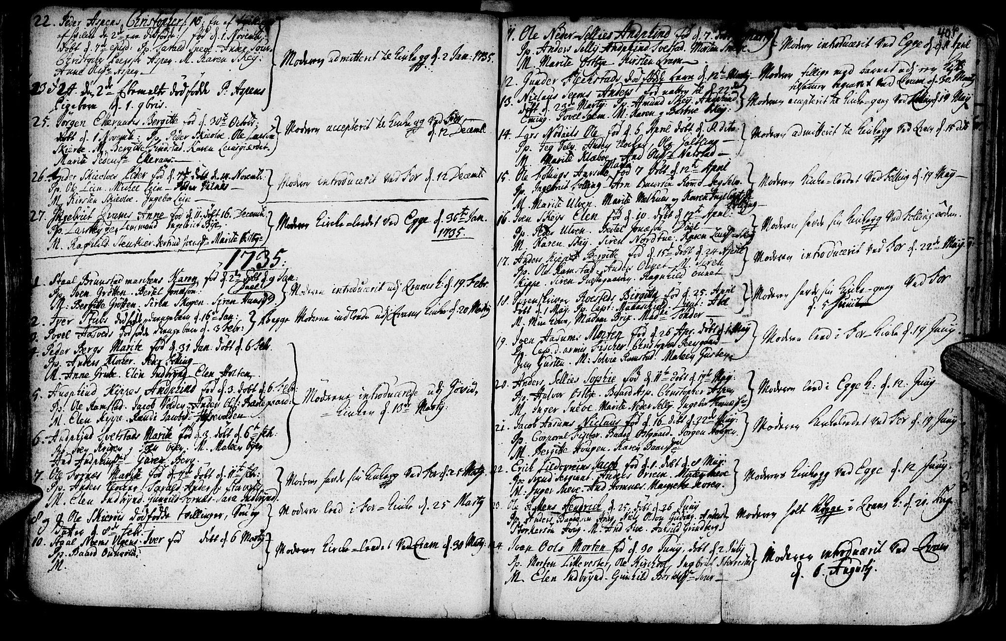 SAT, Ministerialprotokoller, klokkerbøker og fødselsregistre - Nord-Trøndelag, 746/L0439: Ministerialbok nr. 746A01, 1688-1759, s. 40p