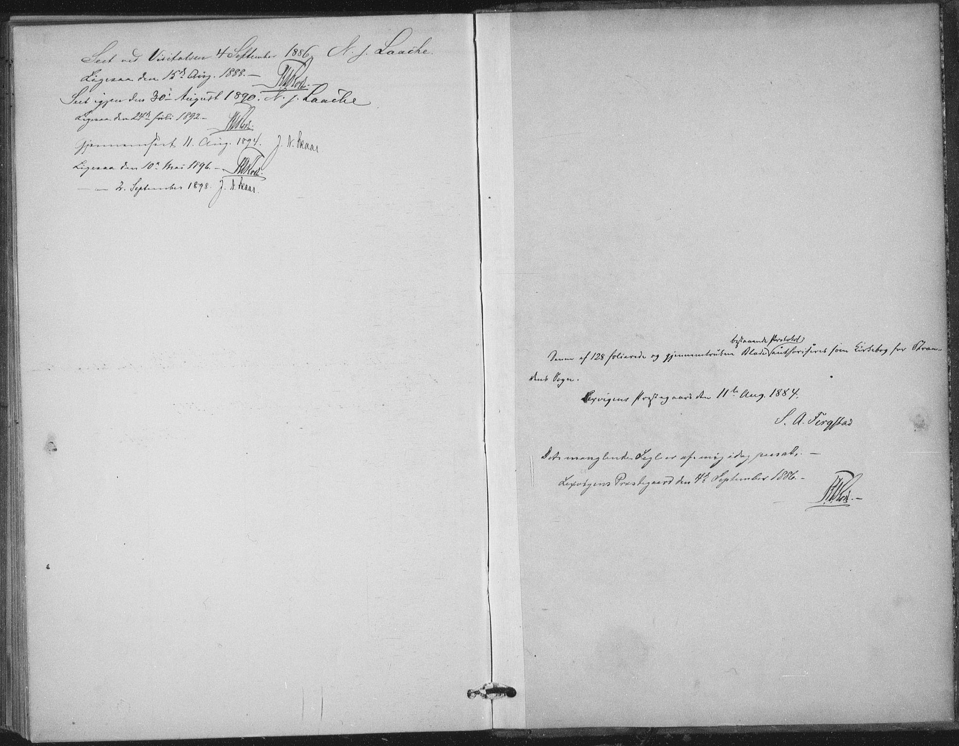 SAT, Ministerialprotokoller, klokkerbøker og fødselsregistre - Nord-Trøndelag, 702/L0023: Ministerialbok nr. 702A01, 1883-1897, s. 123